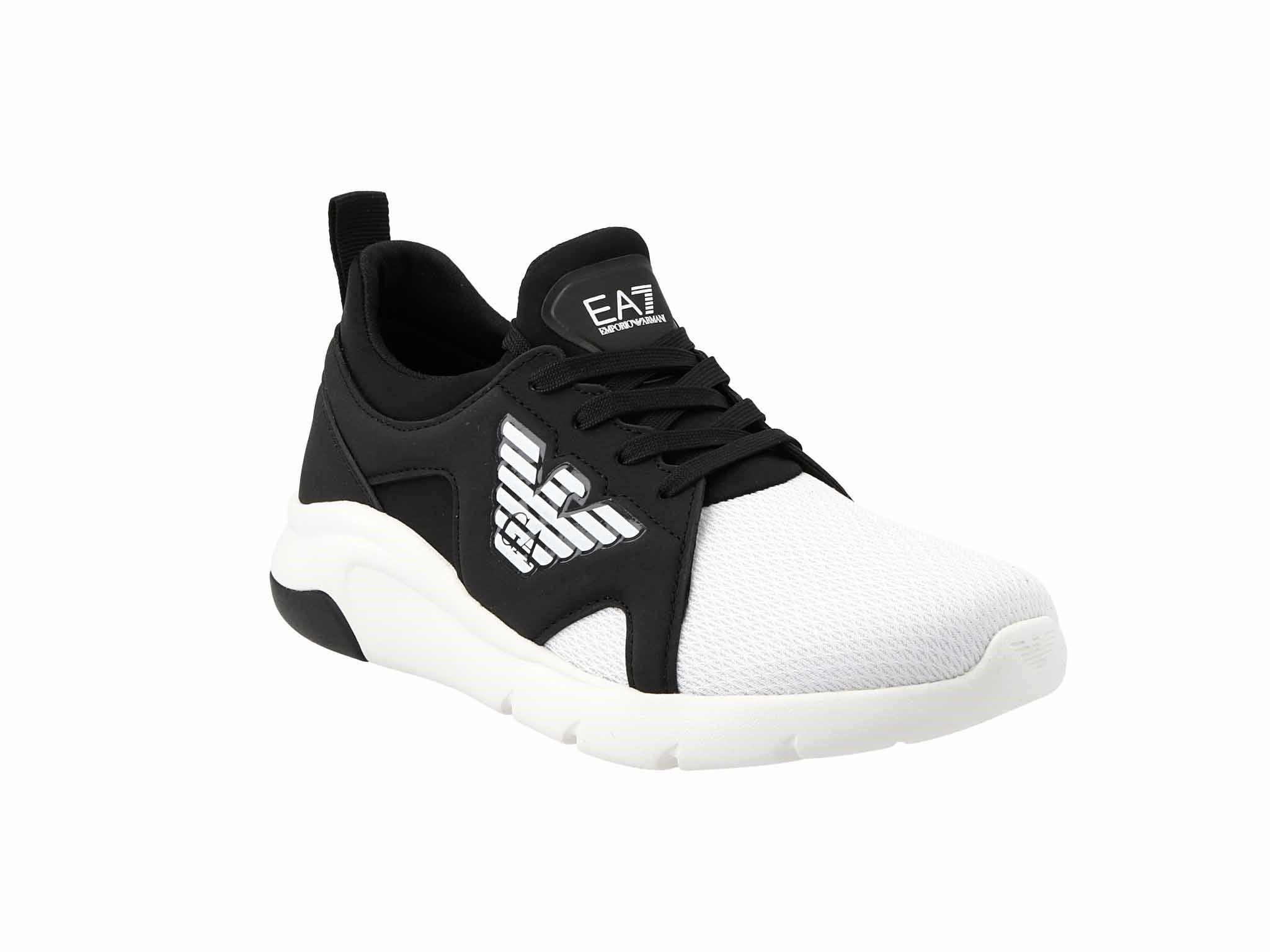 Sneakersy EA7 EMPORIO ARMANI - X8X056 XCC56 A120 Black/White