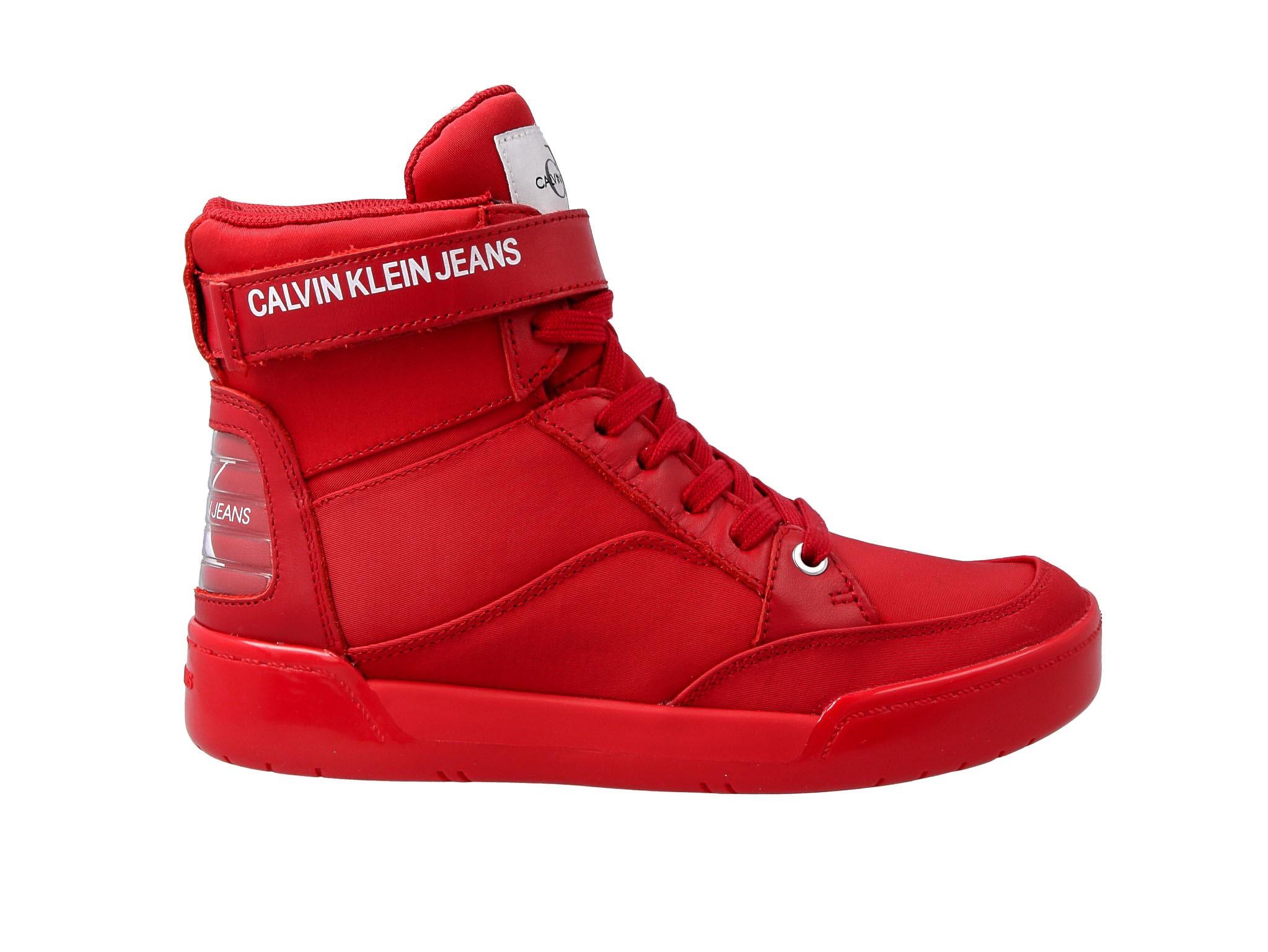 Sneakersy CALVIN KLEIN JEANS Nelda R0804 Scarlet
