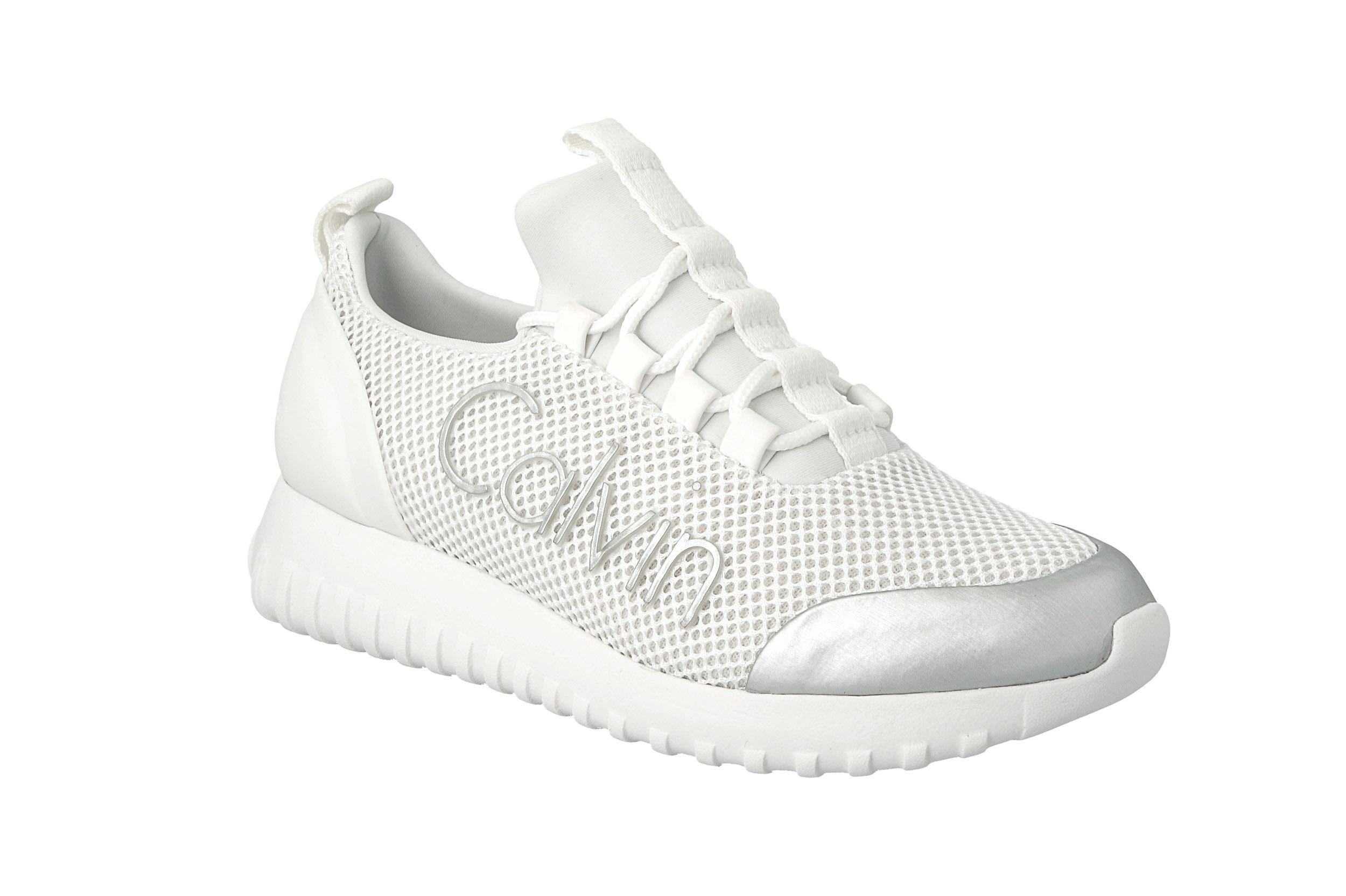 Calvin Klein Jeans Sneakersy Reika R0666 WhiteSilver