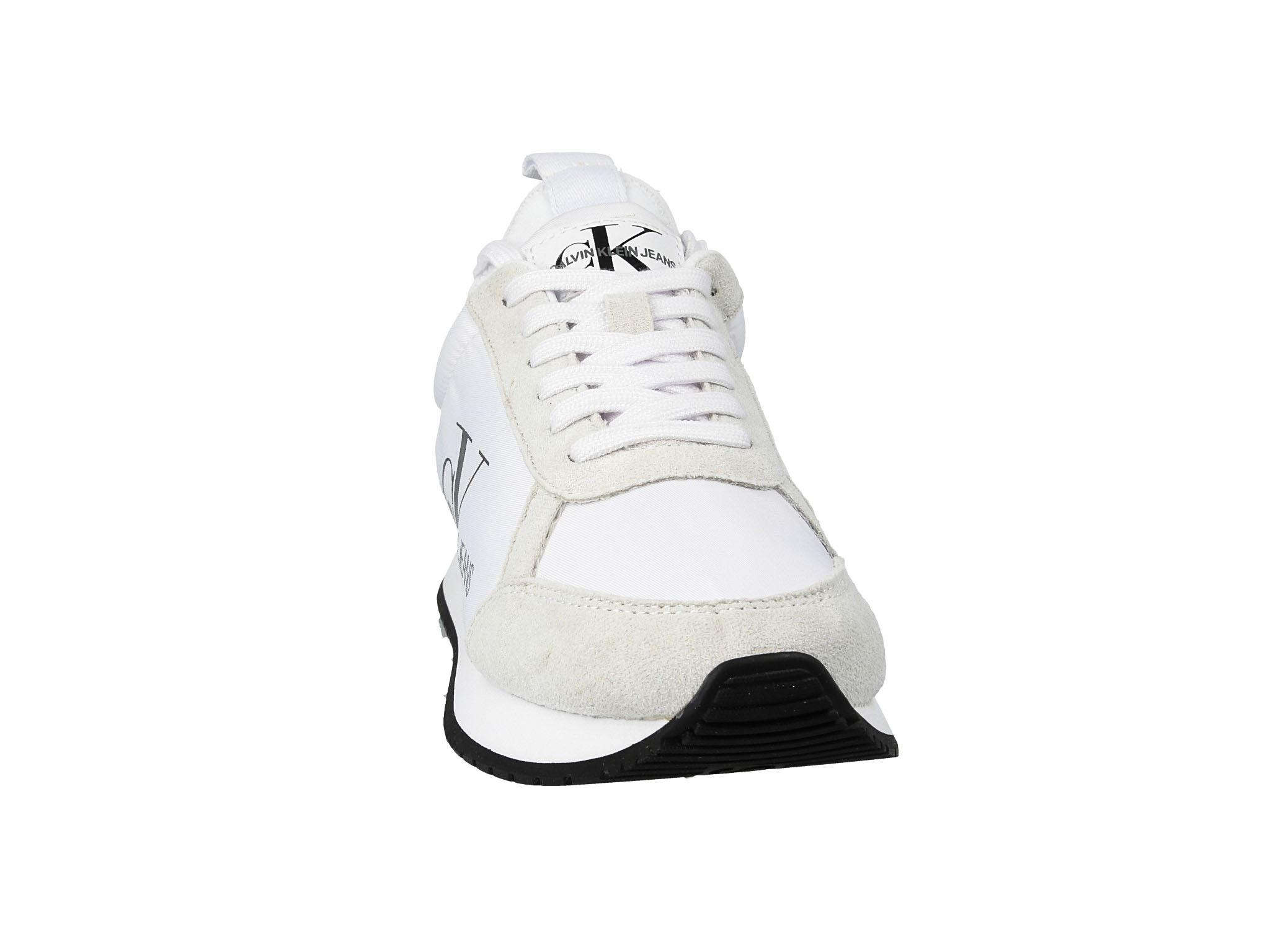 Sneakersy CALVIN KLEIN JEANS Josslyn B4R0825 White