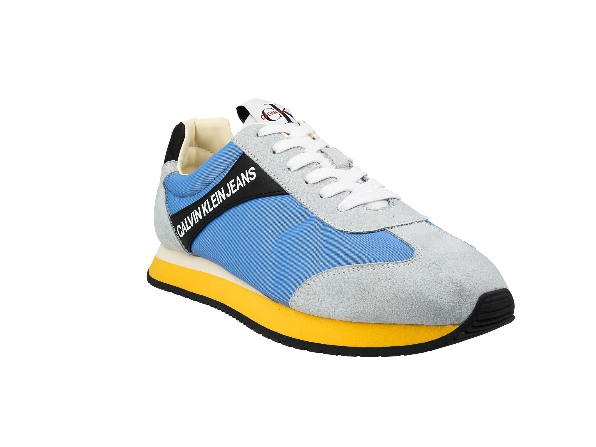 Sneakersy CALVIN KLEIN JEANS Jerrold S0615 Multi Silver Lake Bl