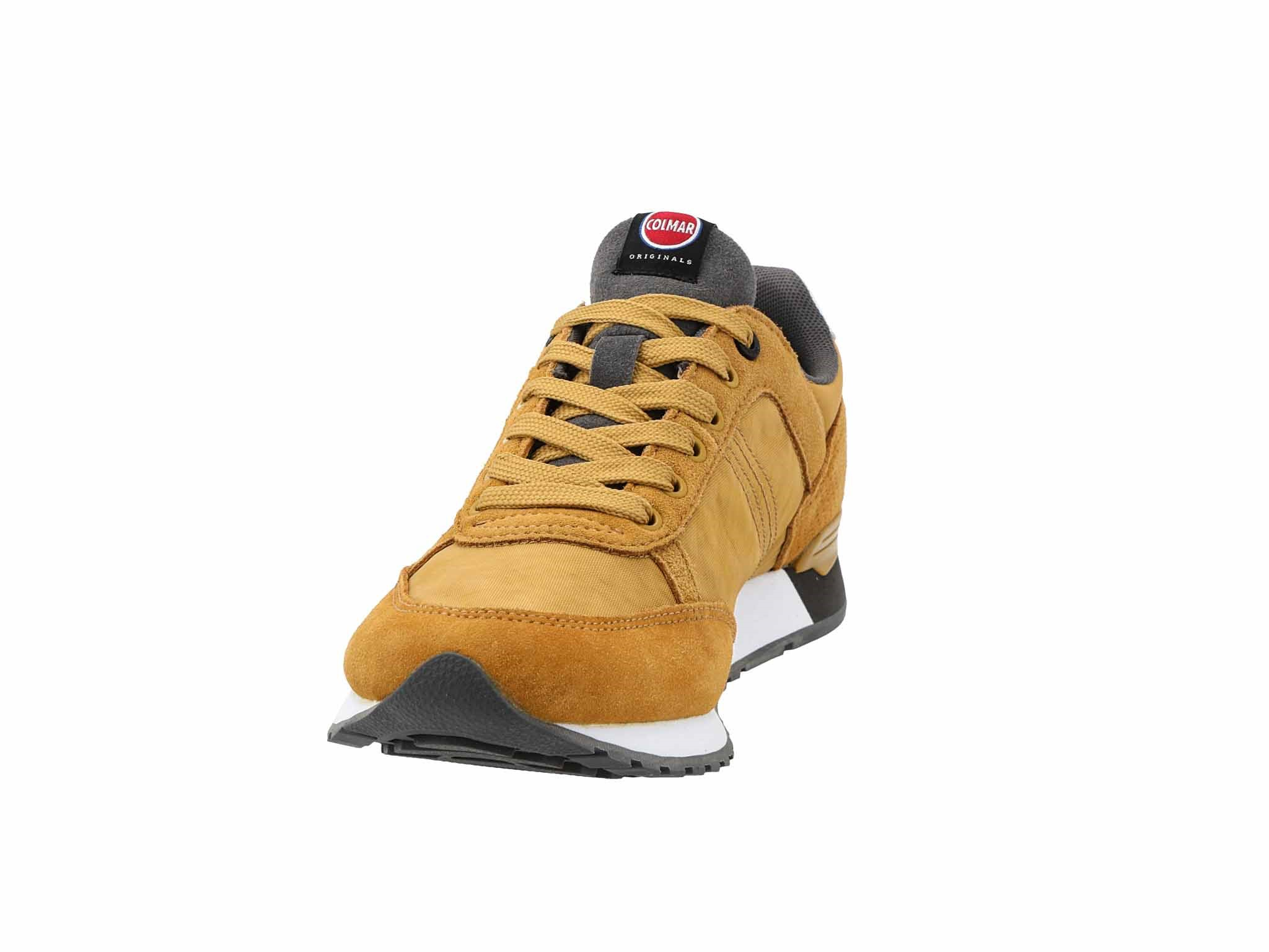 Sneakers COLMAR Travis Colors 013 OchraDk Gray