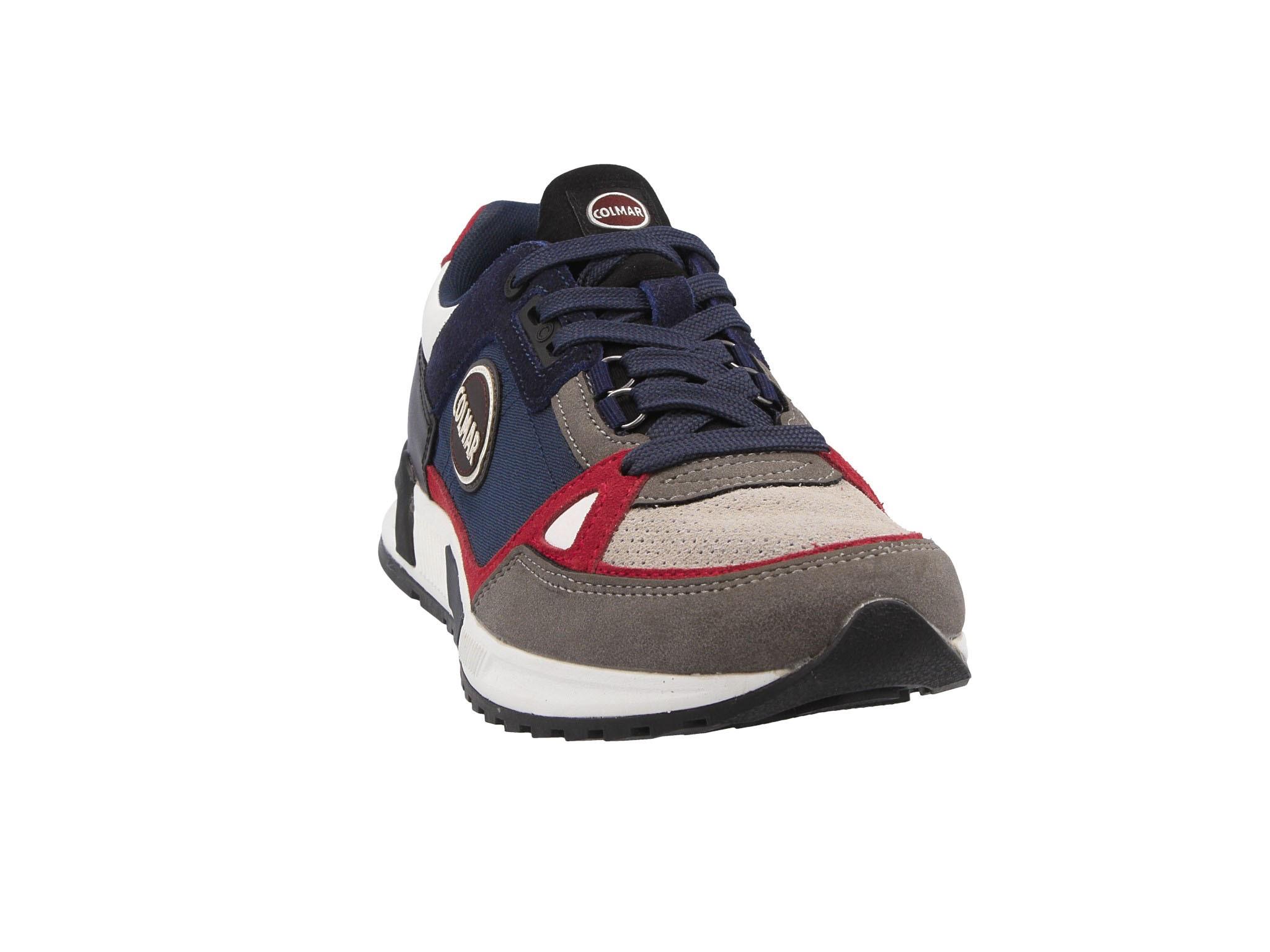 Sneakers COLMAR Travis Supreme 064 NavyIvoryGreyBlackRed