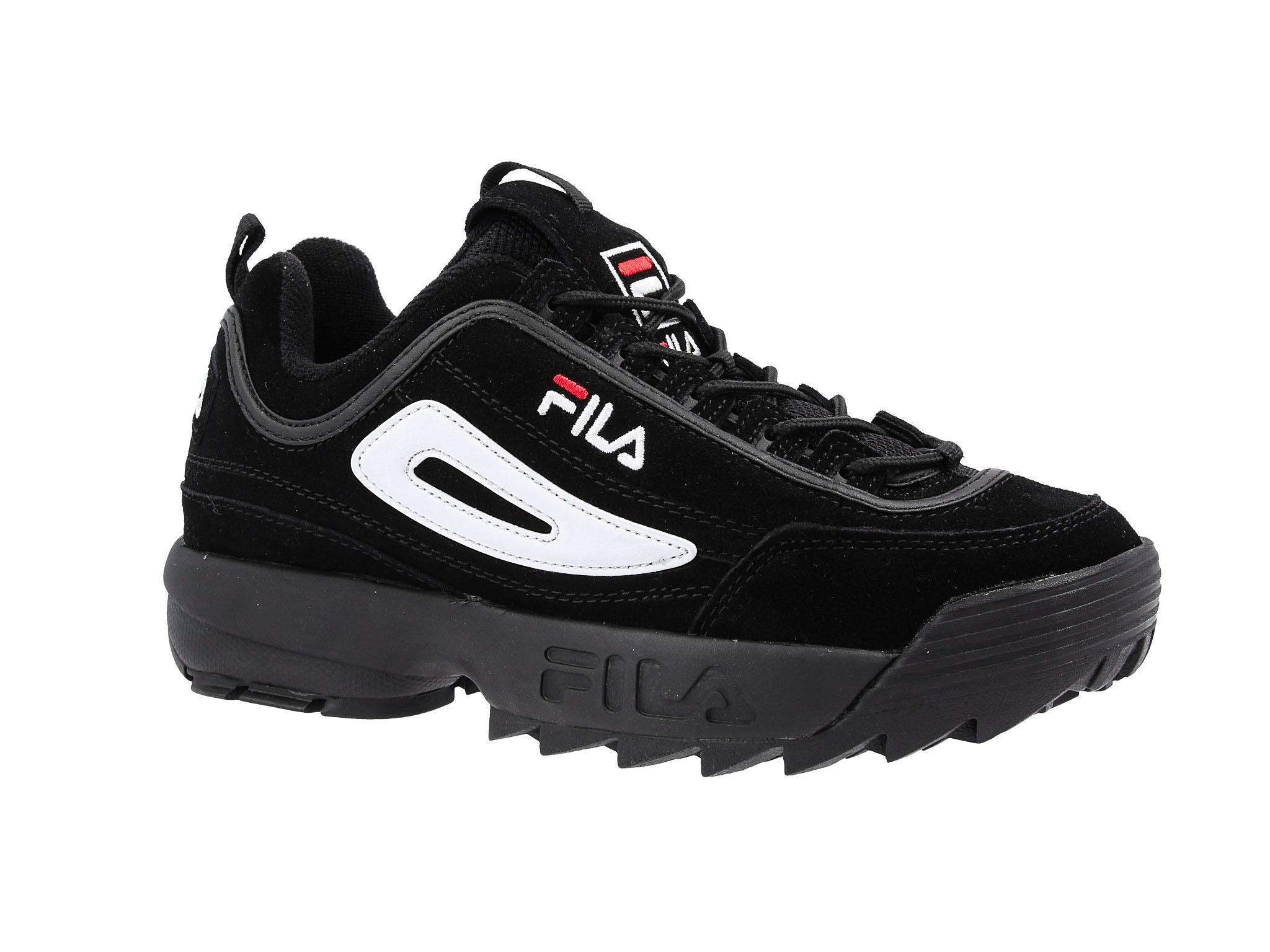 Sneakersy FILA Disruptor S Low 1010490.12V BlackBlack