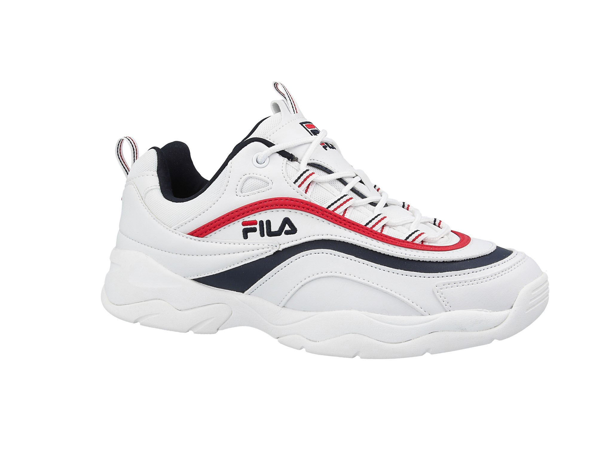 Sneakers buty FILA Ray Low whitefila navyfila red (1010561.150)