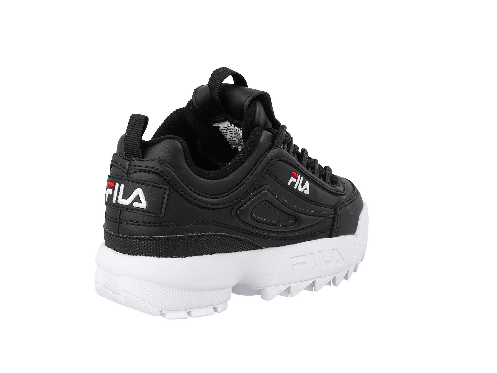 Sneakersy FILA Disruptor Kids 1010567.25Y Black Ceny i
