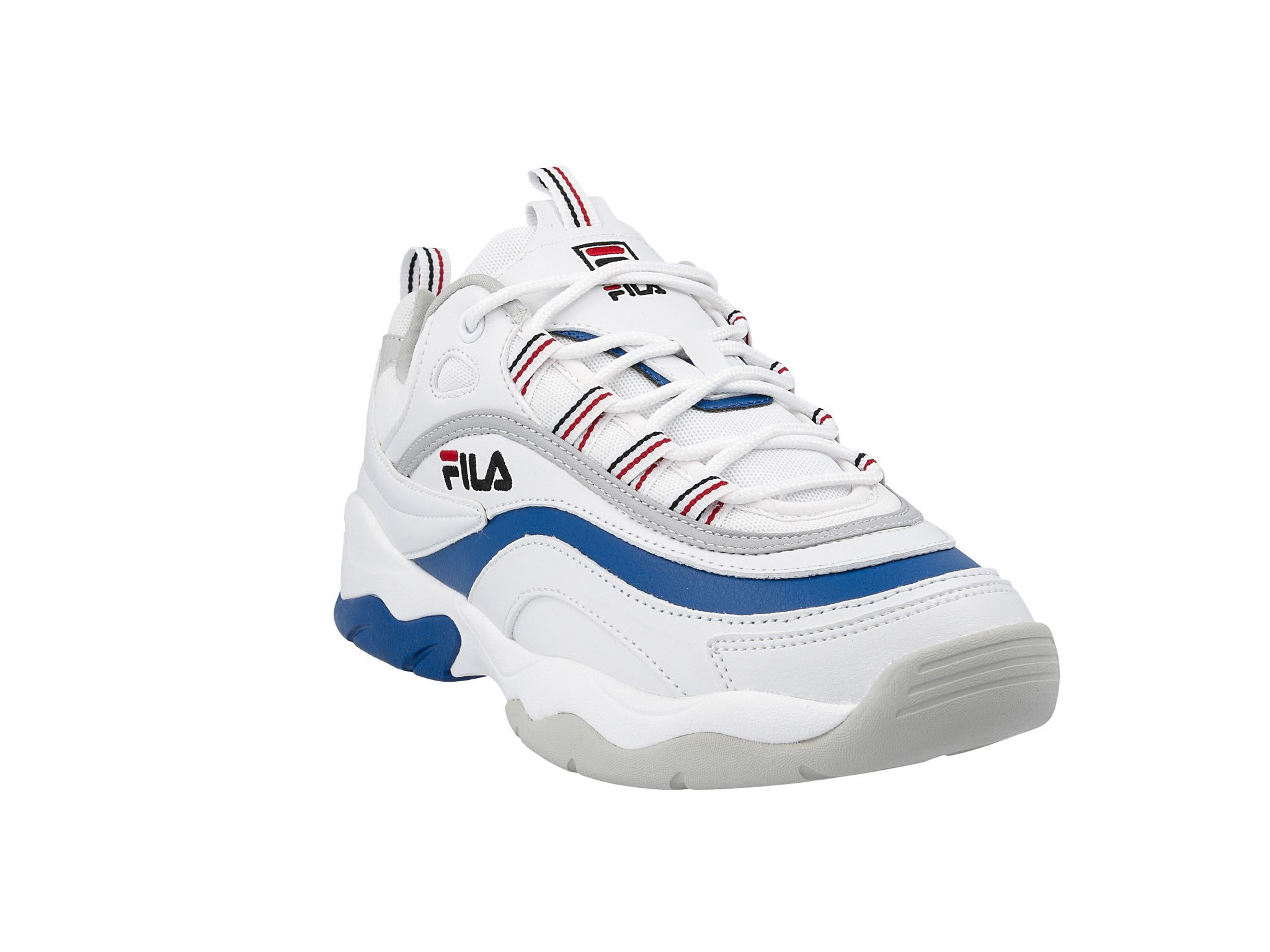 Sneakersy FILA Ray Low 1010578.02G WhiteElectric Blue