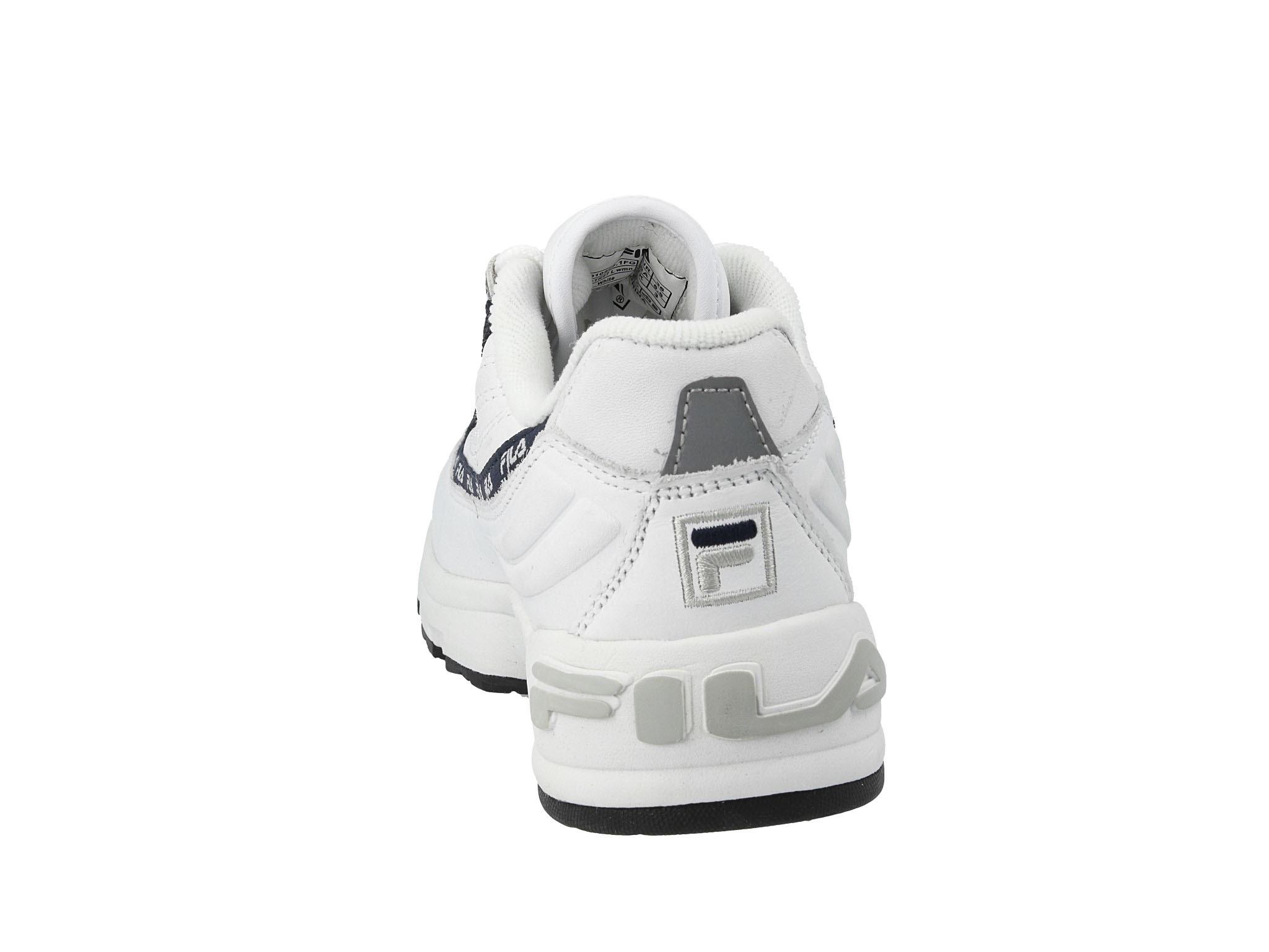 Sneakersy FILA Dstr97 L Wmn 1010596.1FG White Buty sportowe damskie białe w eobuwie.pl