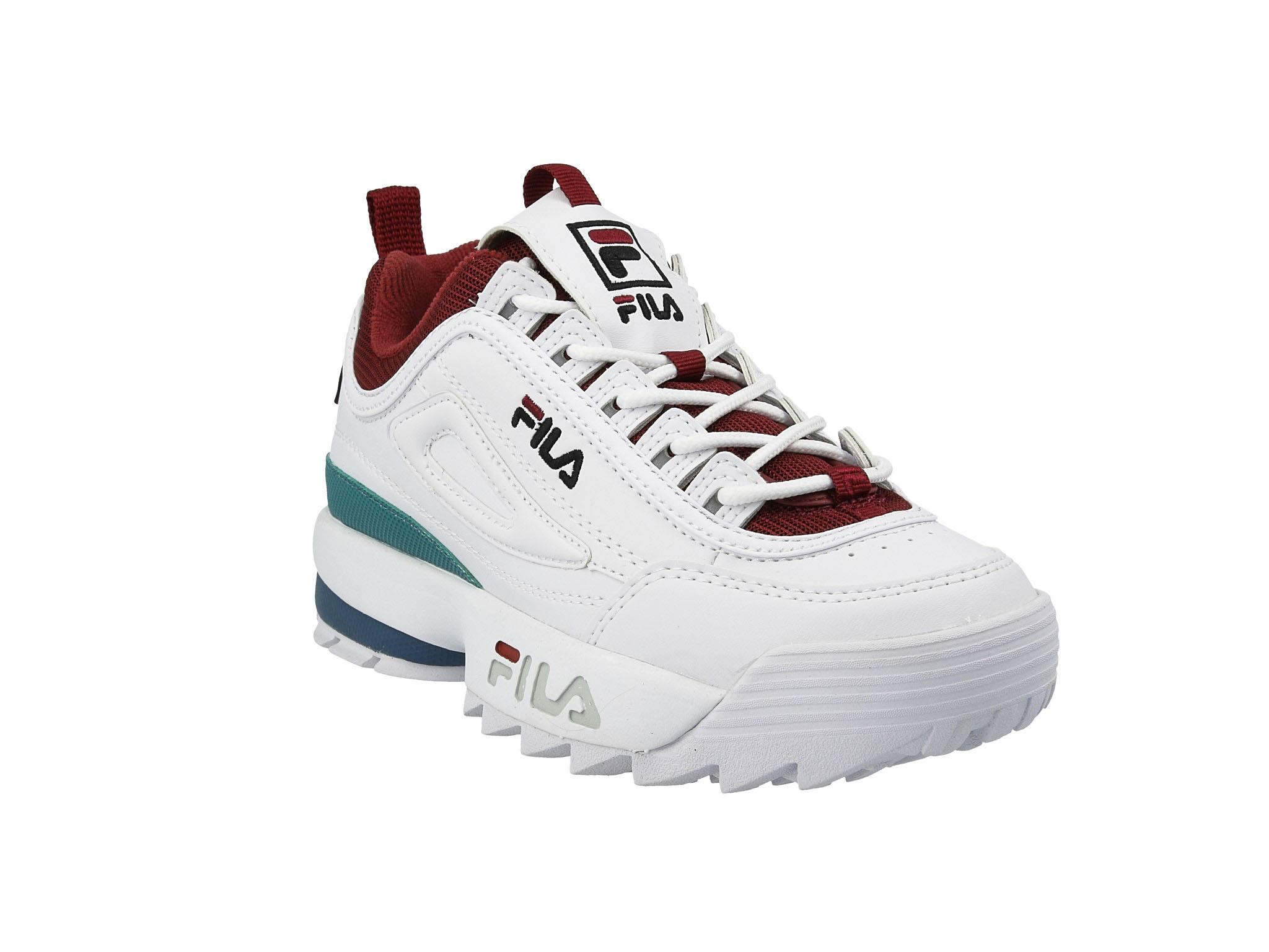 Sneakersy FILA Disruptor Cb Low Wmn 1010604.02H WhiteRhubarb