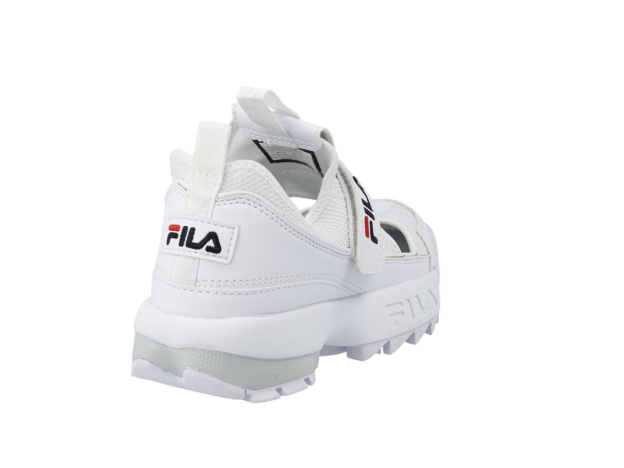 Półbuty FILA Disruptor Halfsandal Wmn 1010610.1FG White