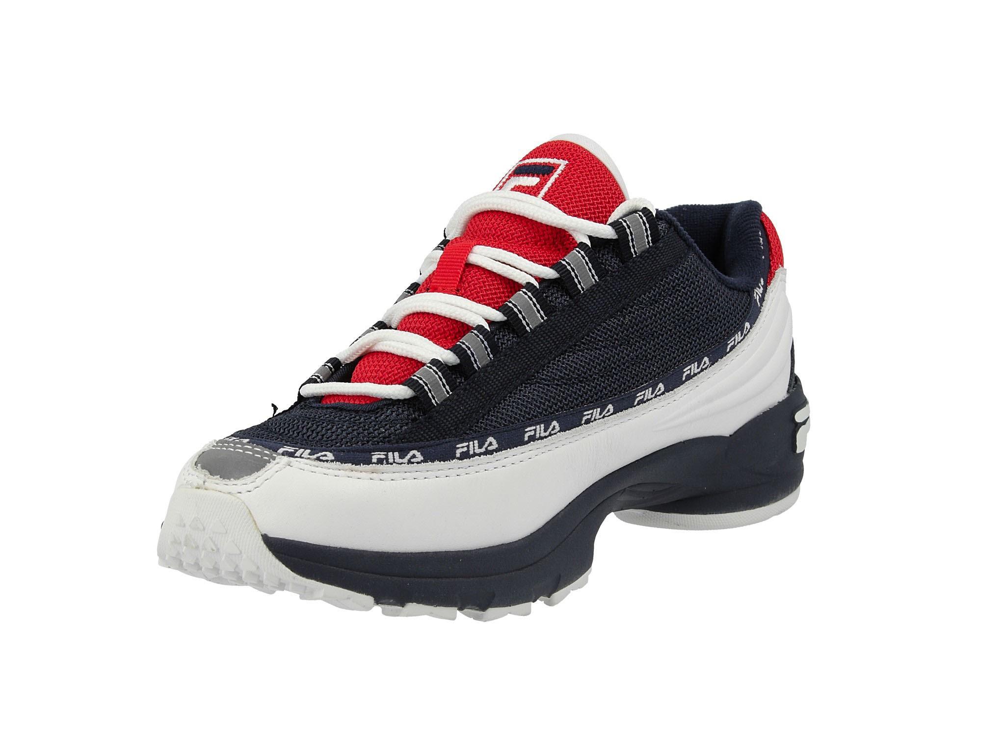 Sneakersy FILA Dstr97 Cb 1010713.01C WhiteFila Navy