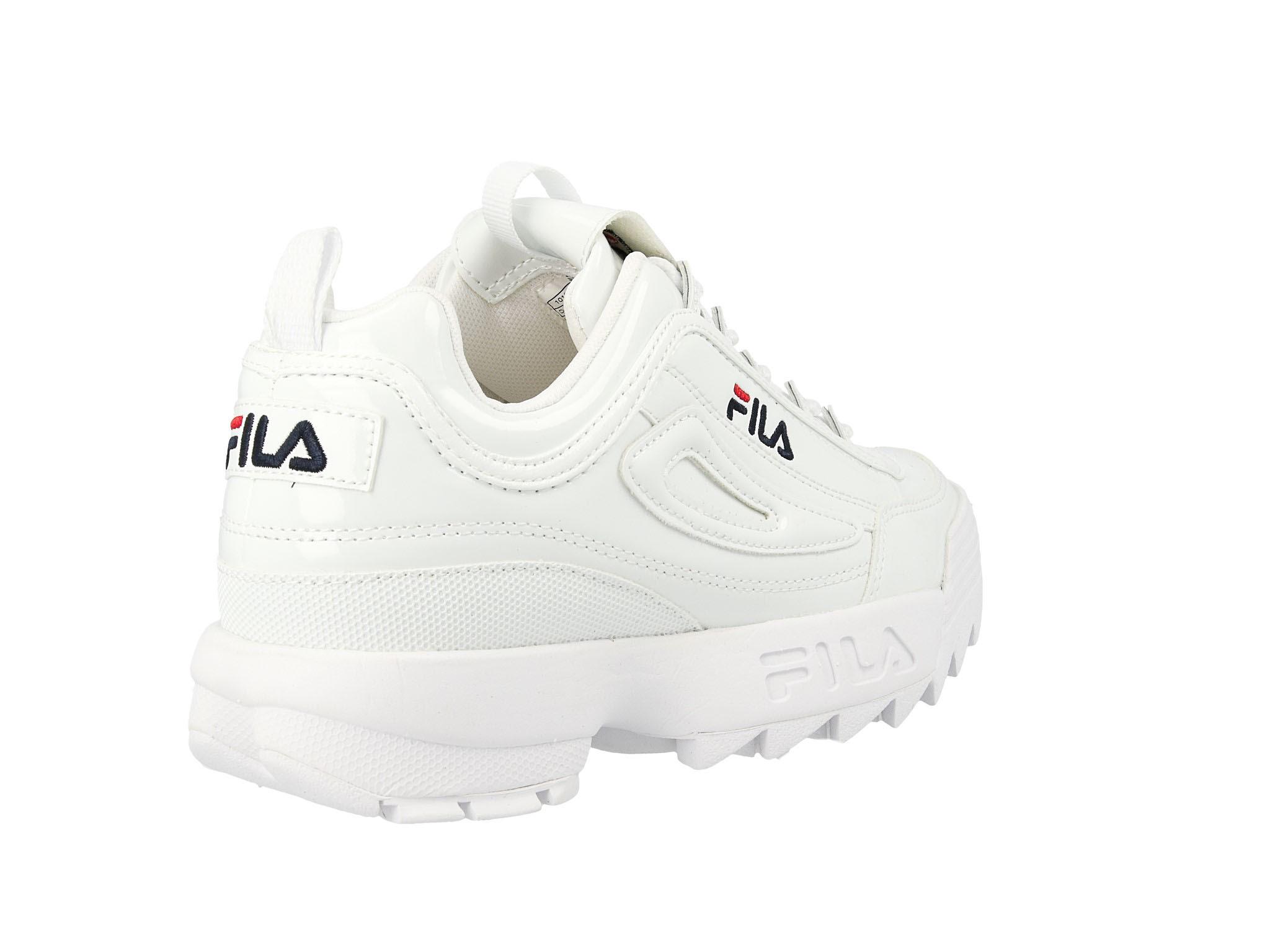 Sneakersy FILA Disruptor P Low Wmn 1010746.1FG White