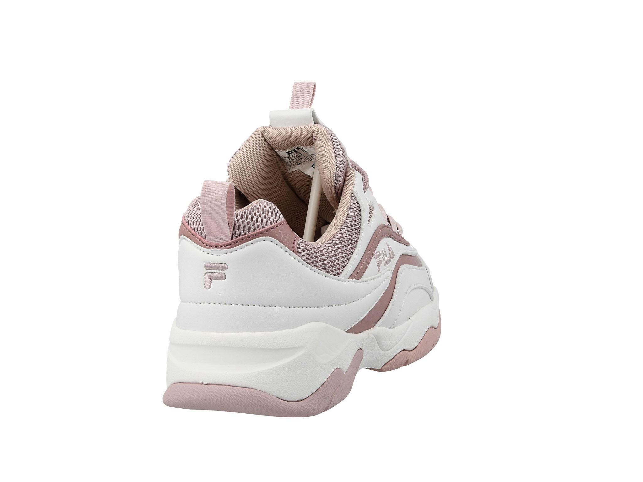 Sneakersy Ray M Low Wmn 1010763.91Q WhiteLilas