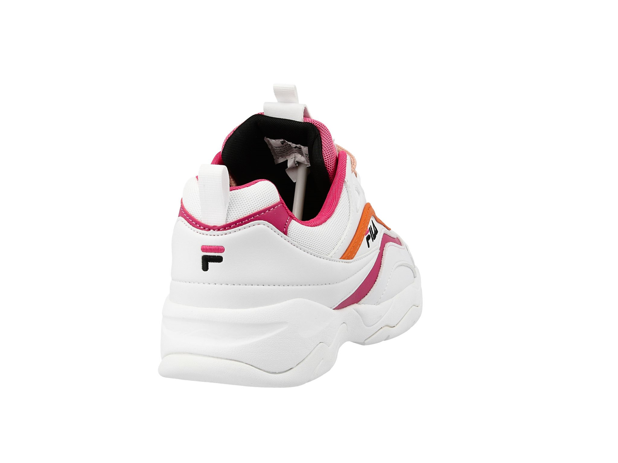 nowy Sneakersy FILA Ray Cb Low Wmn 1010764.91H WhitePink