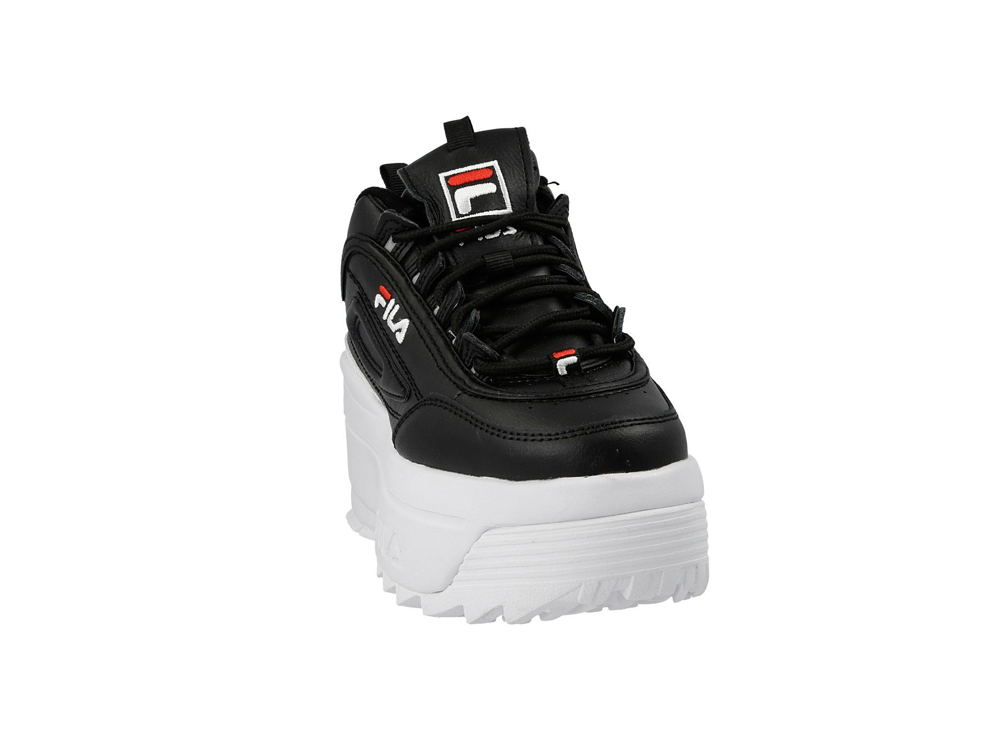 Sneakersy Disruptor II Wedge Wmn 5FM00704.014 BlackWhite Red