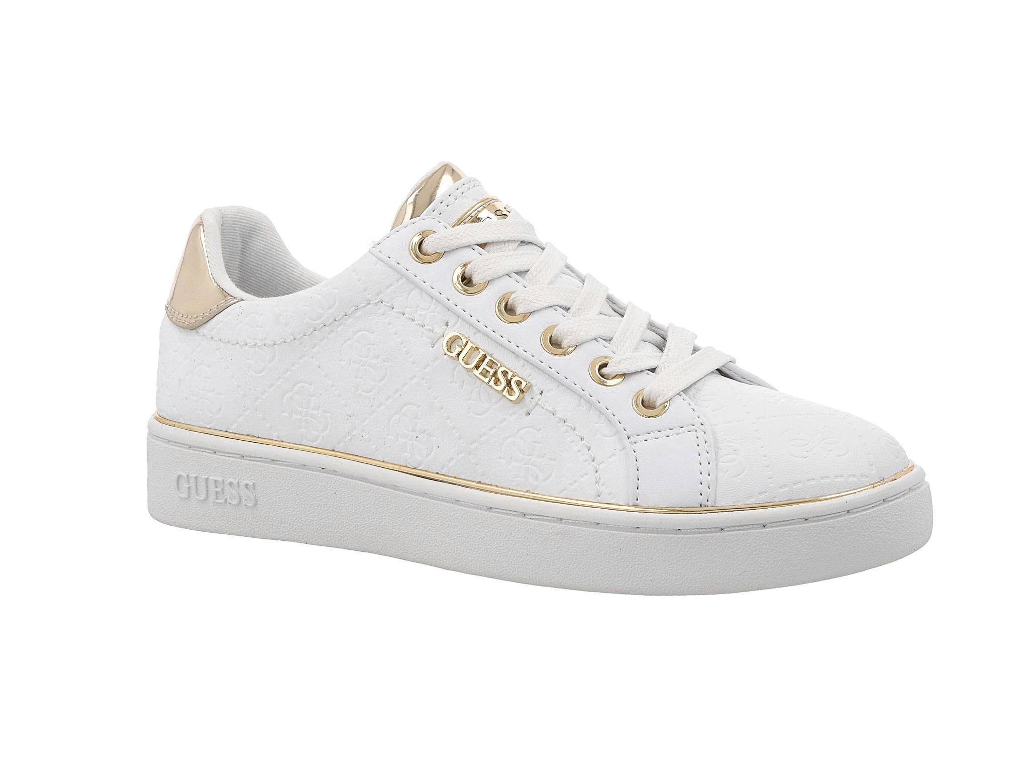 Sneakersy GUESS FL5BEK FAL12 WHITE