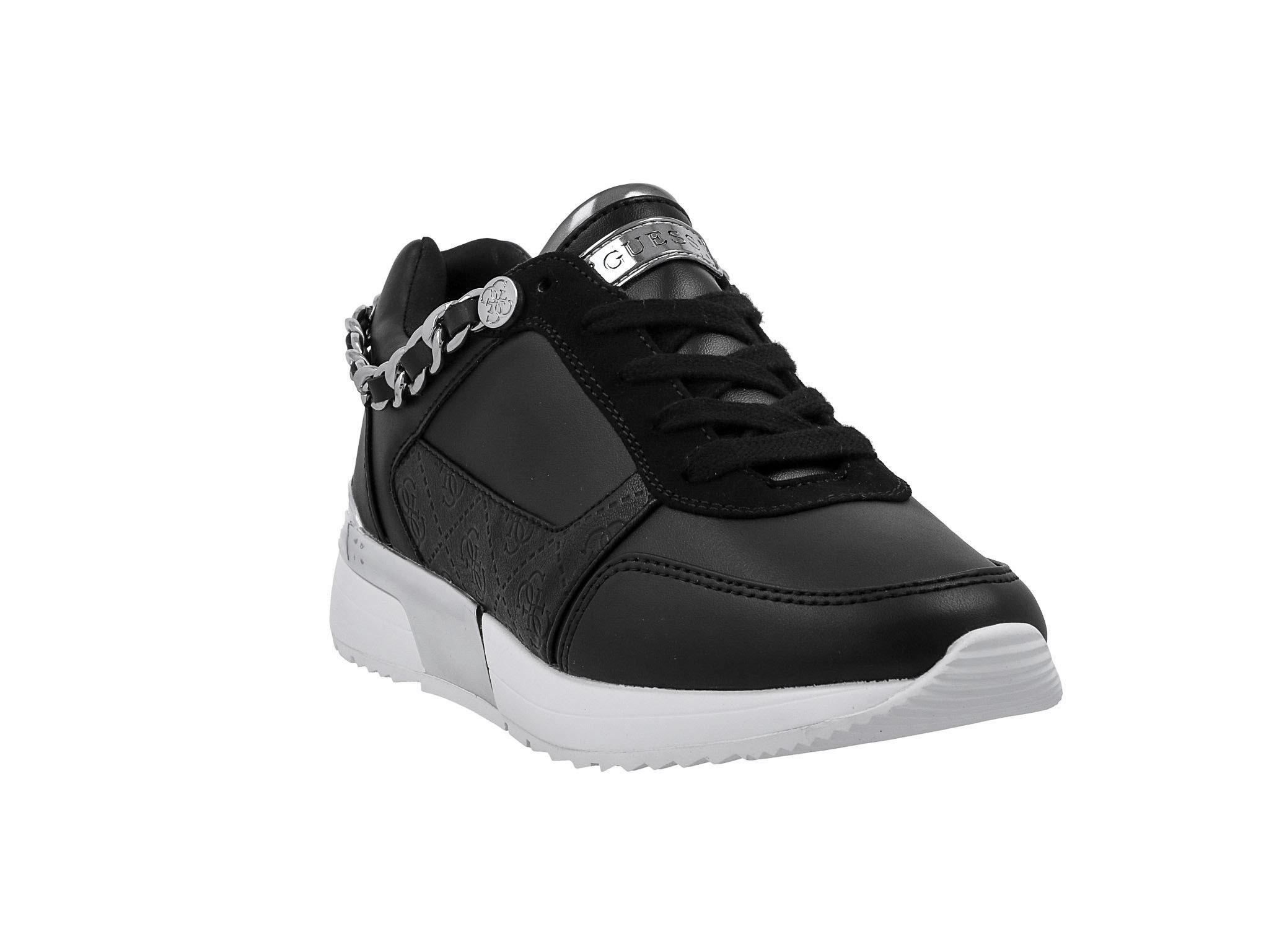 Sportcipő GUESS Mian 2 FL7MI2 ELE12 BLACK Női