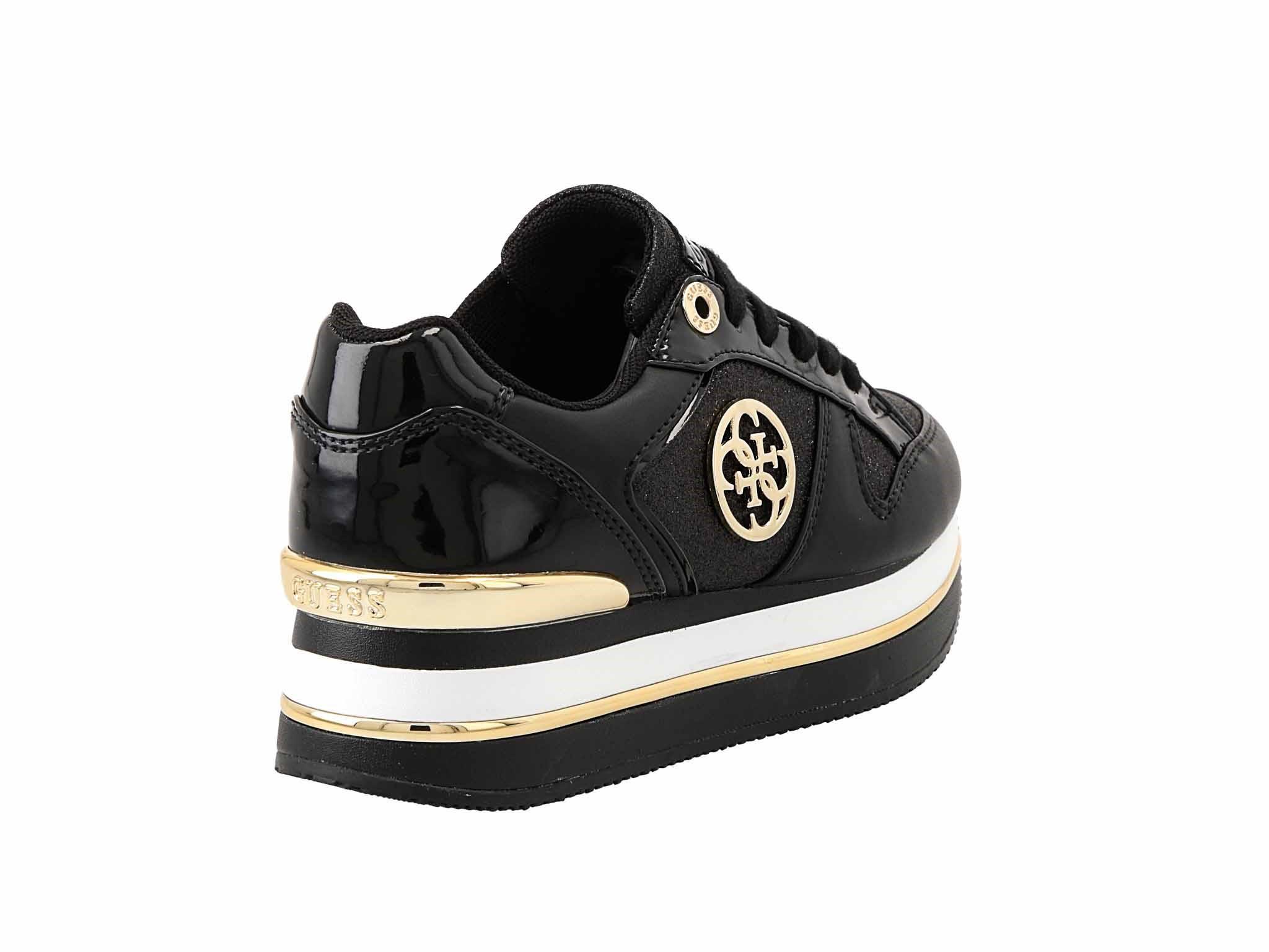 Sportcipő GUESS Dealy FL5DLY FAM12 BLACK