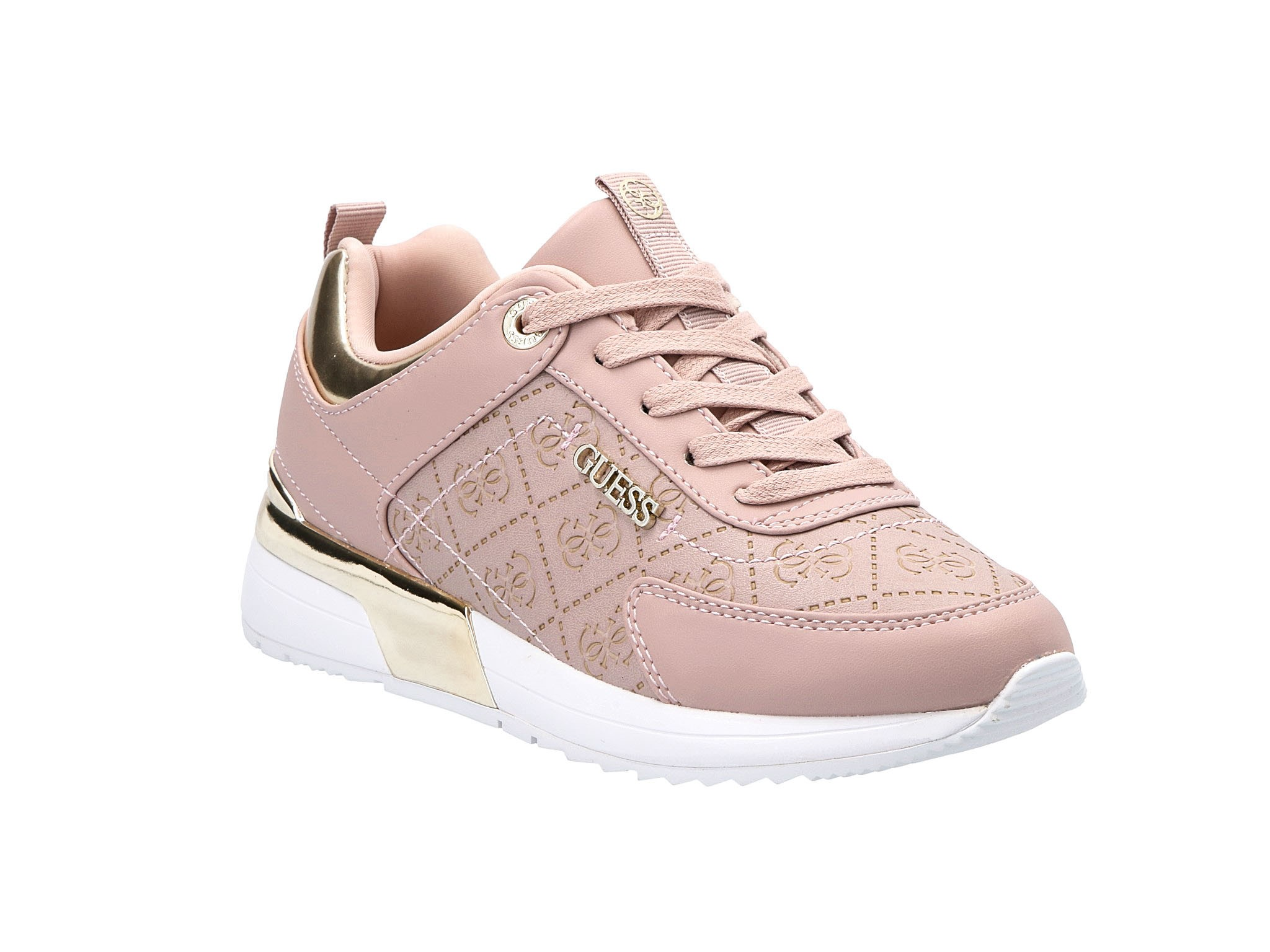 Sneakersy GUESS Marlyn FL5MRL FAL12 BLUSH • Modivo.pl
