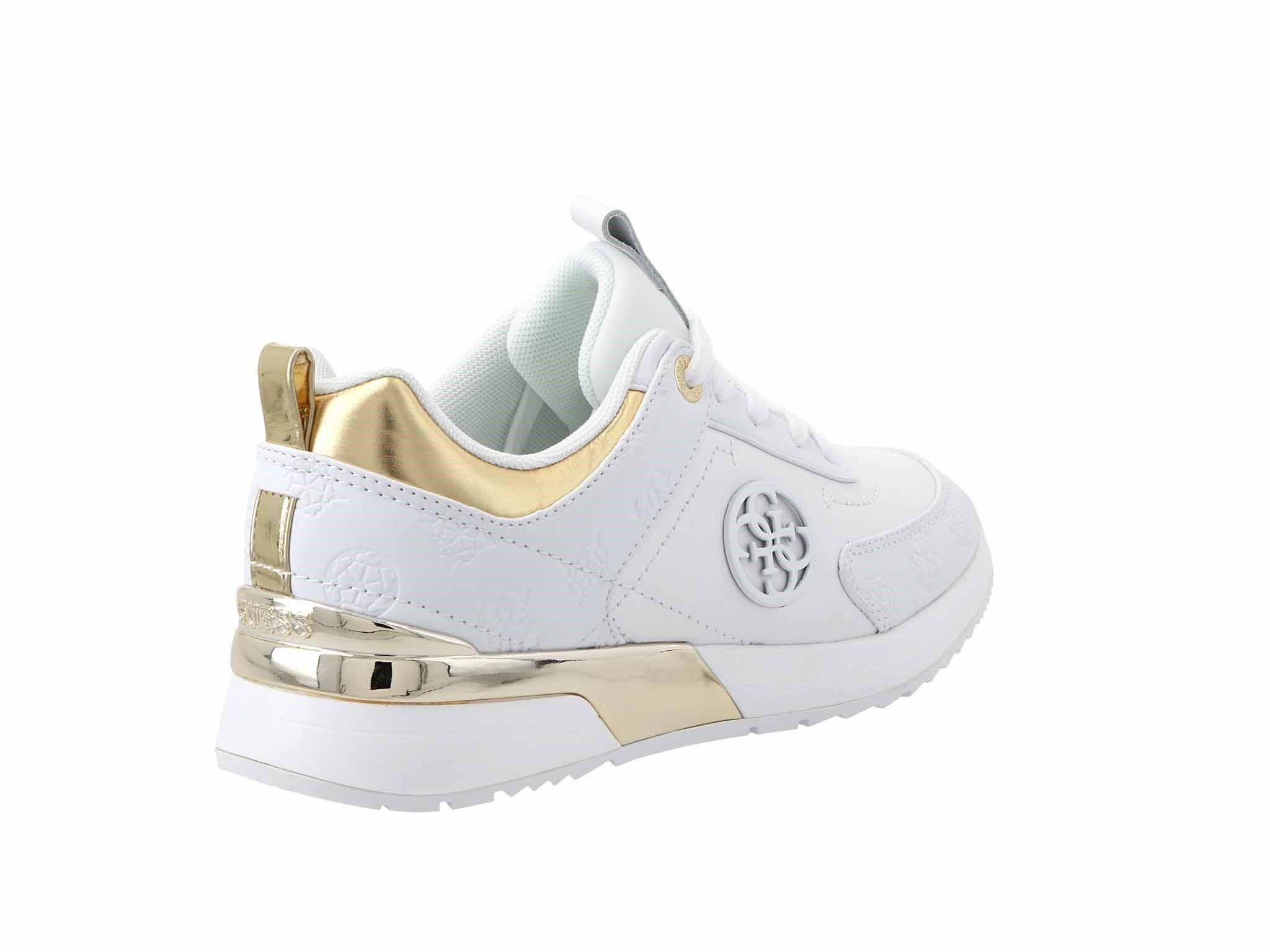 Sneakersy GUESS Marlyn4 FL5MYN FAL12 WHITE