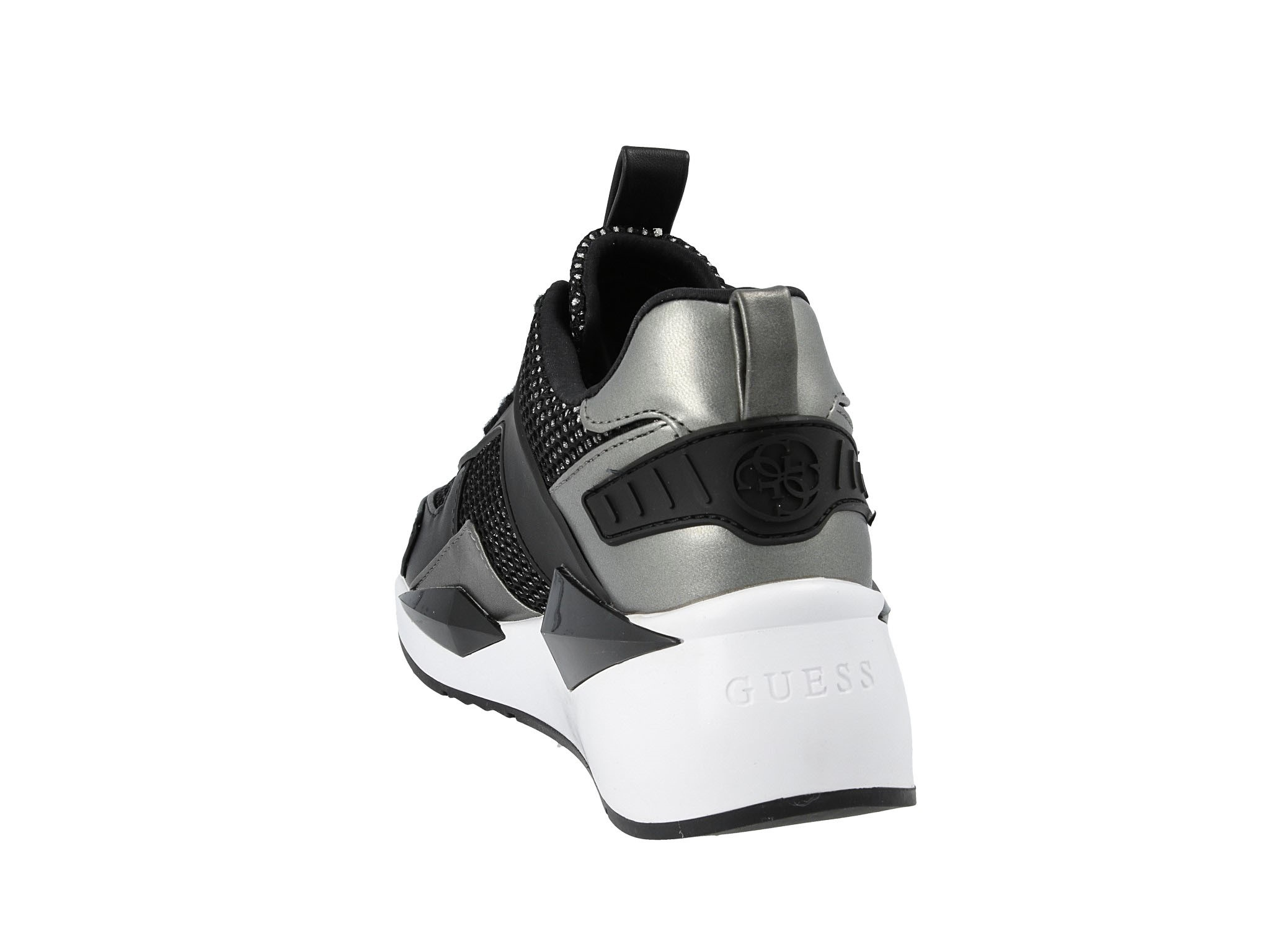 Sneakersy GUESS Typical FL5TP2 FAM12 BLACK • Modivo.pl