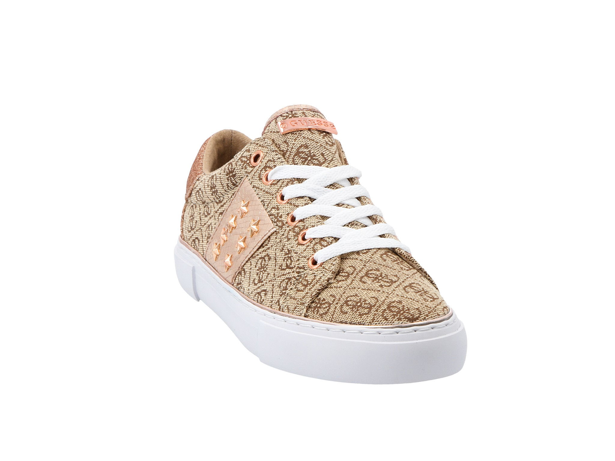 Sneakersy GUESS Gamer4 FL6GM4 FAL12 BEIBR • Modivo.pl