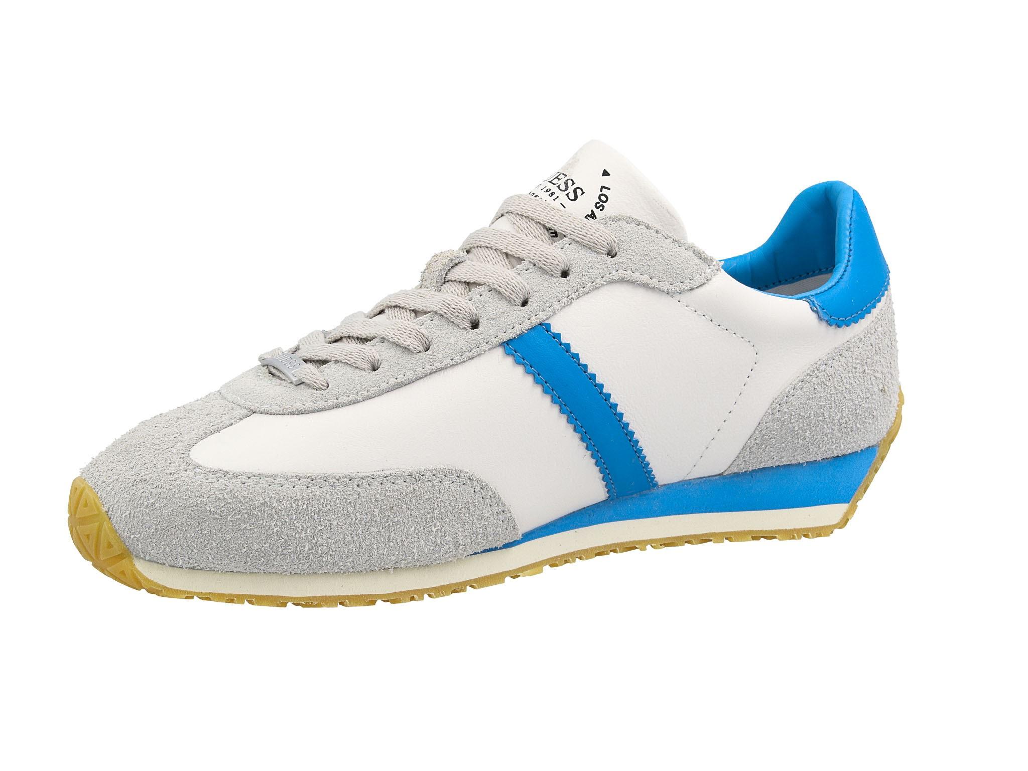 Sneakersy GUESS Glorym FM6GLR LEA12 BLUE Sneakersy