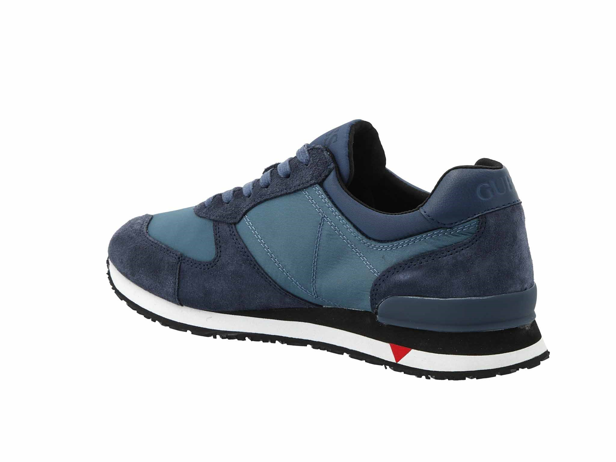 Sneakersy GUESS Chat FM7CHT SUE12 BLUE Sneakersy