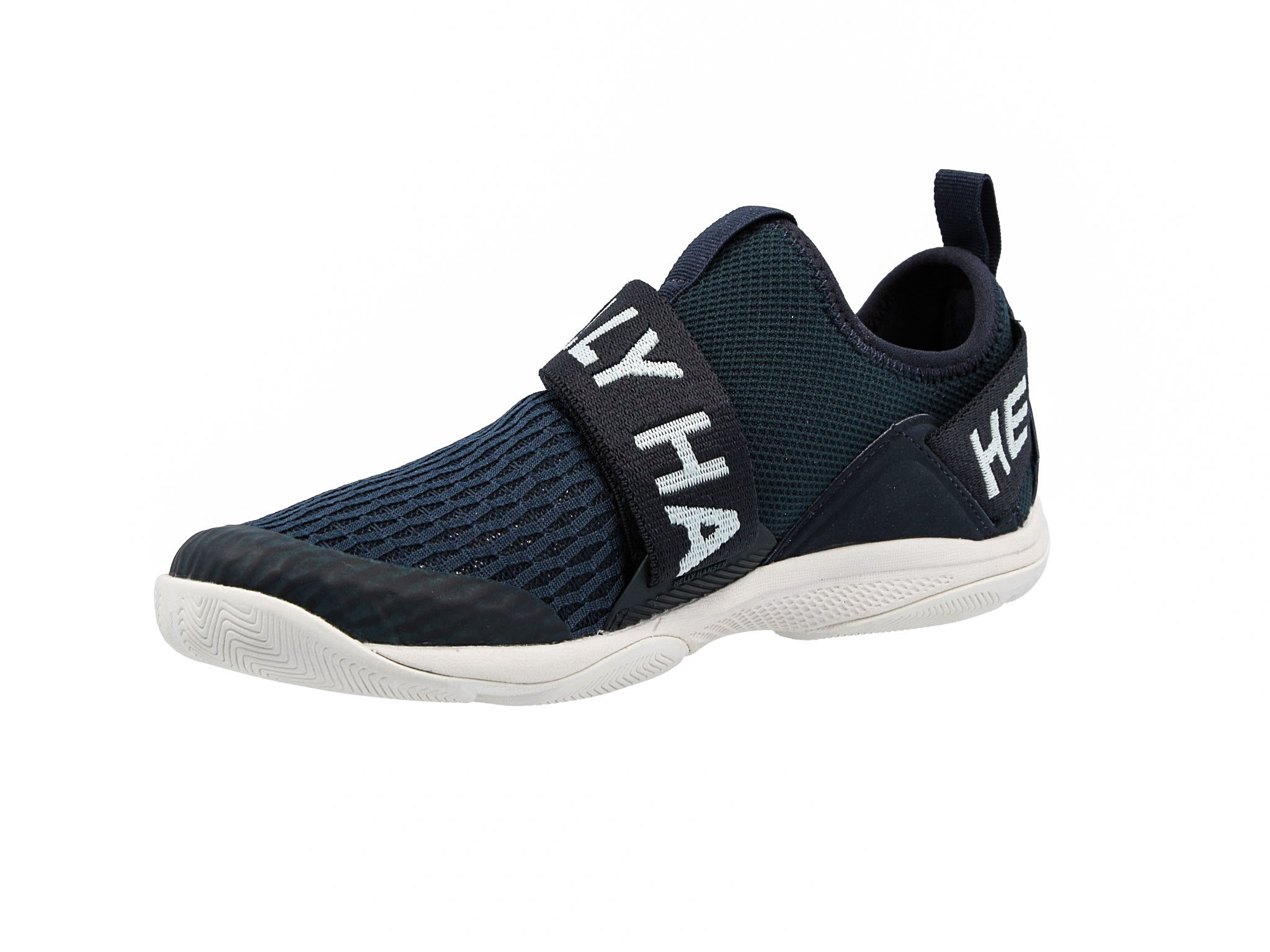 Buty HELLY HANSEN Hydromoc Slip On Shoe 114 68.597 NavyBleached AquaOff White