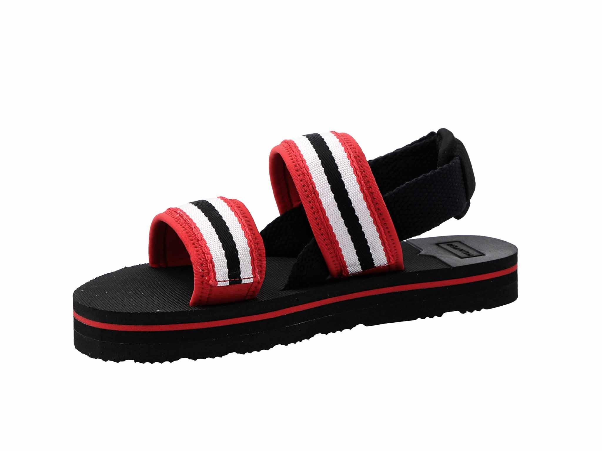 Szandál HUNTER Original Beach Sandal WFD4025WEB RedWhite