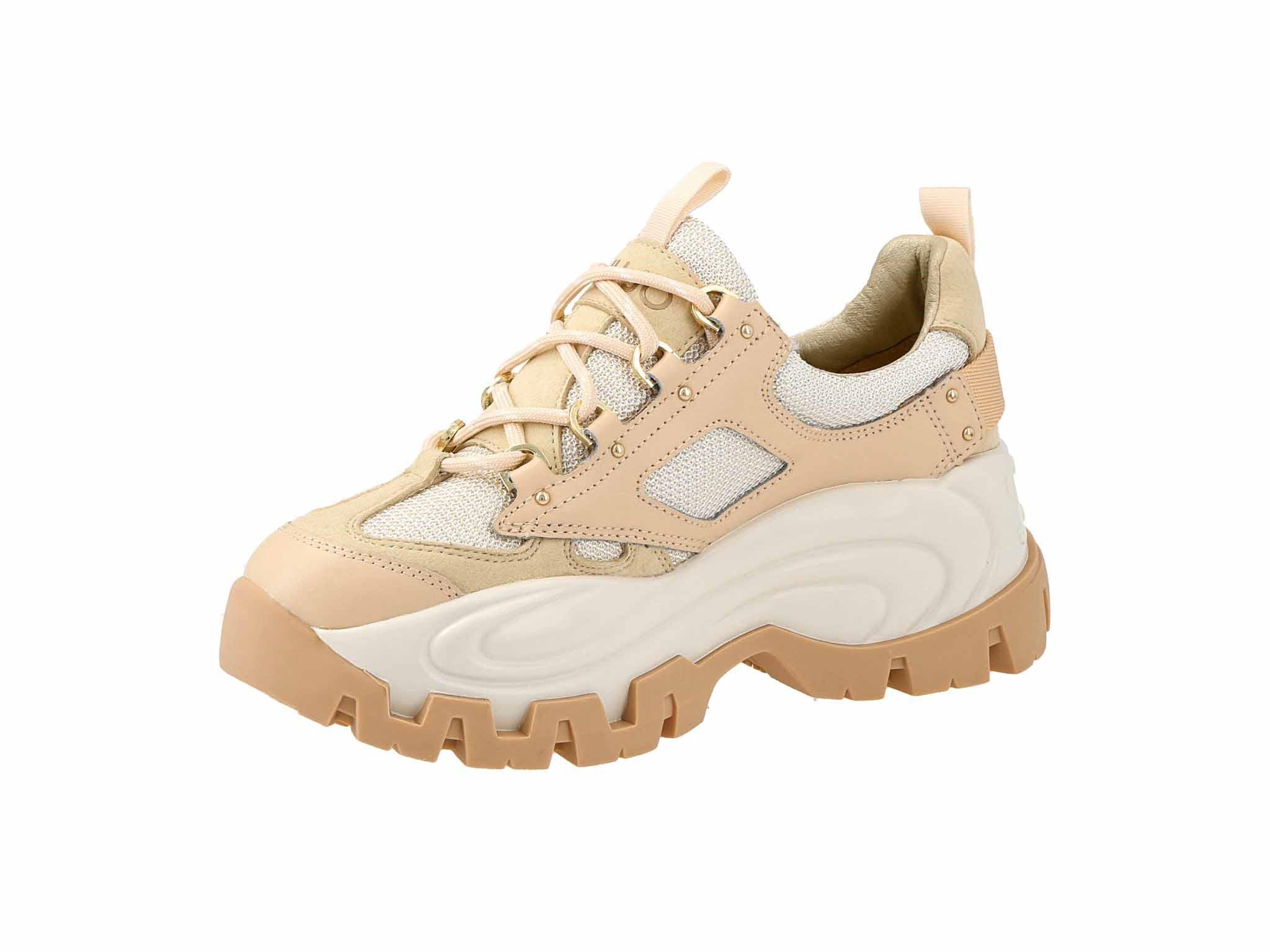 Sneakersy LIU JO - Wave 01 BA0023 TX092 Beige 00077