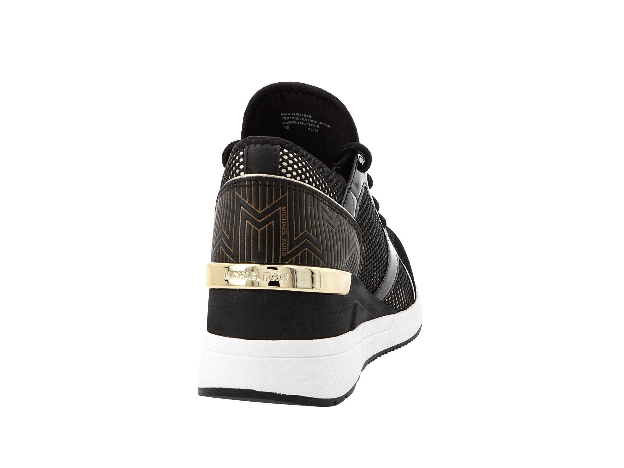 Sneakersy MICHAEL MICHAEL KORS Liv Trainer 43R9LVFS3D Blk