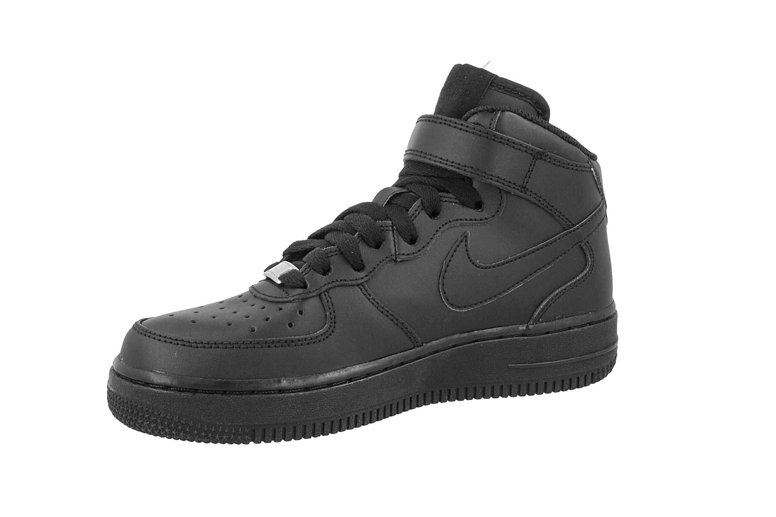 Cipő NIKE Air Force 1 Mid (GS) 314195 004 BlackBlack