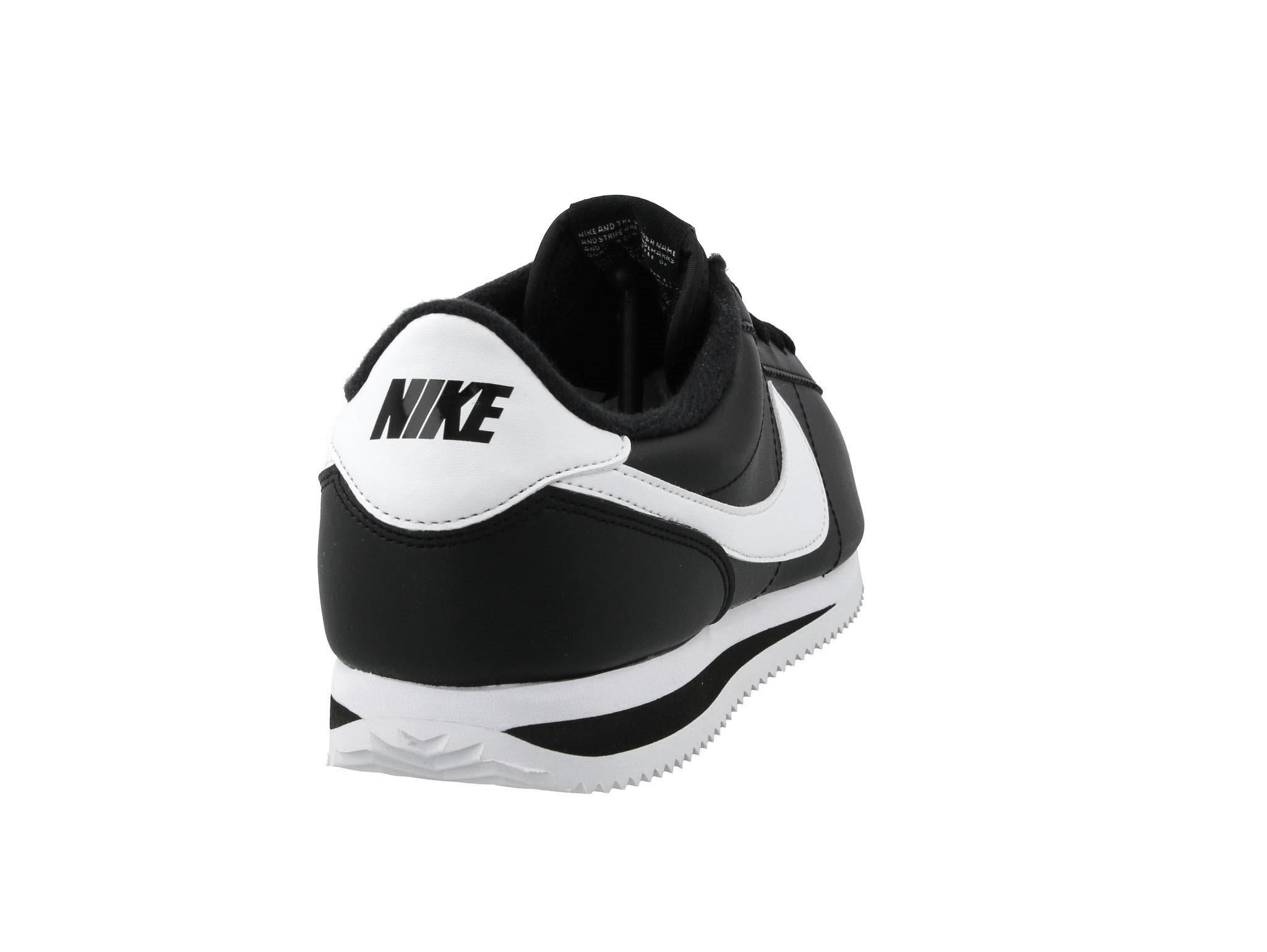 Cipő NIKE Cortez Basic Leather 819719 012 BlackWhite