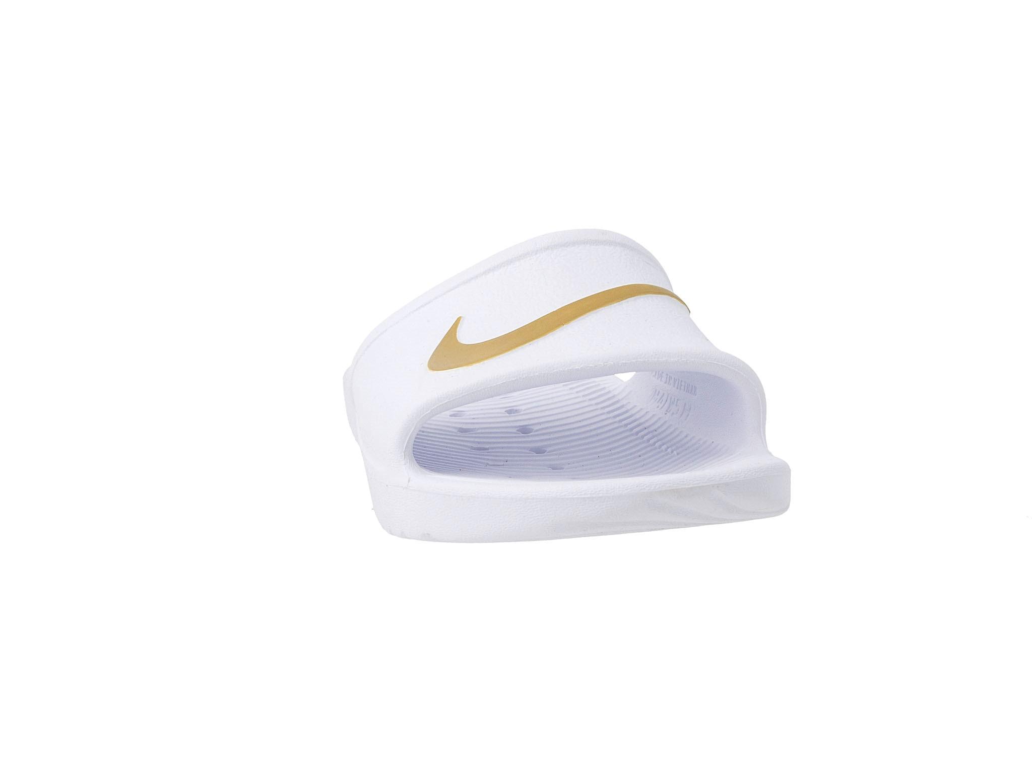 Papucs NIKE Kawa Shower 832655 101 WhiteMetallic Gold