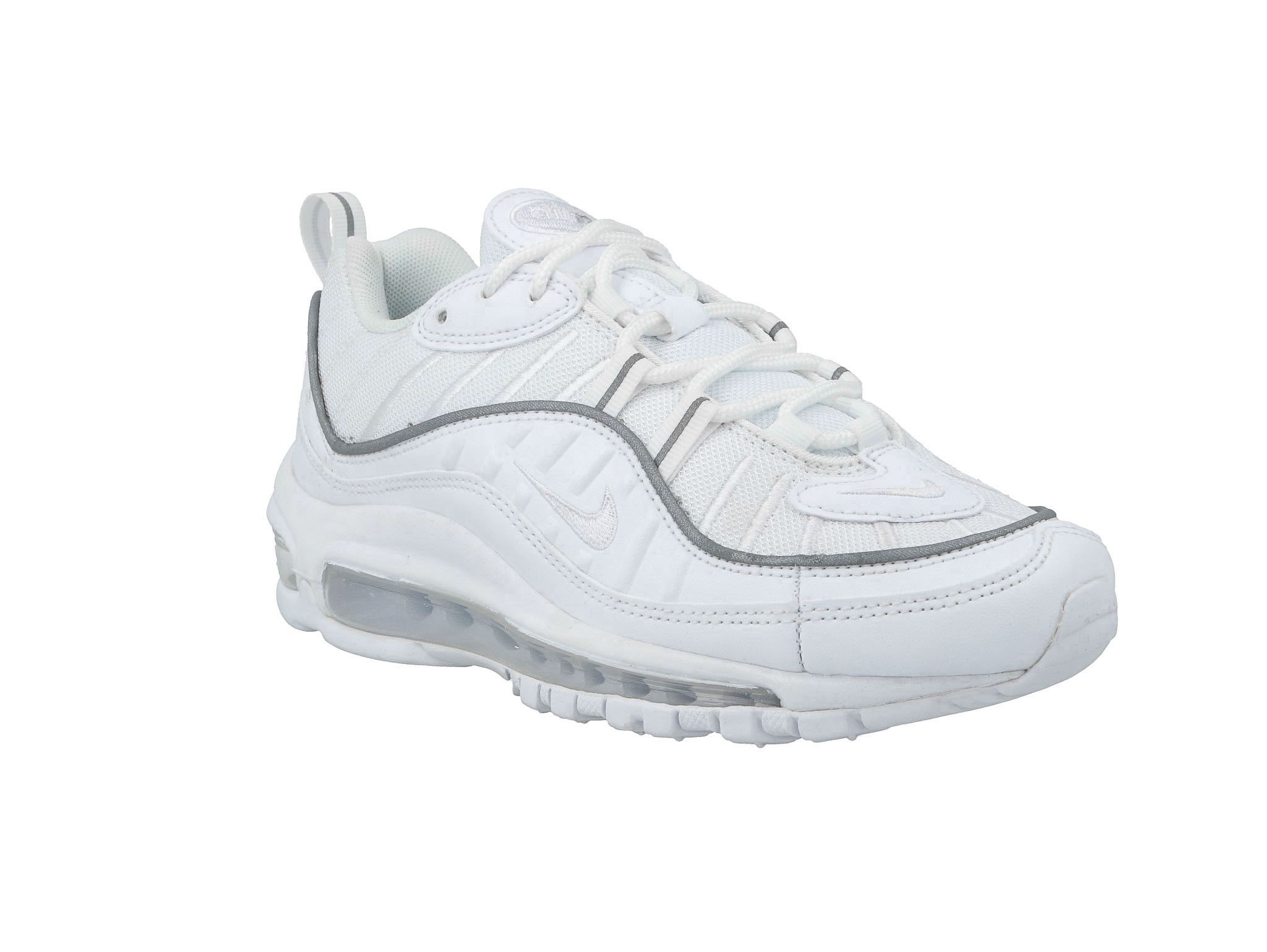 Sneakers buty damskie Nike Air Max 98 whitewhite white (AH6799 114)