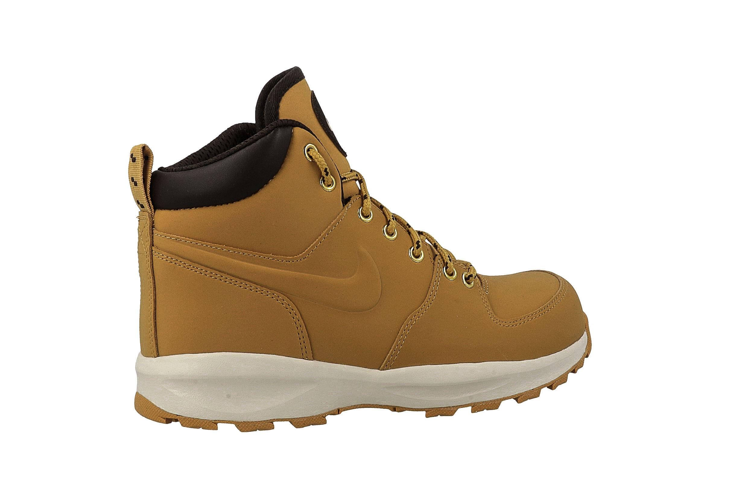 Cipő NIKE - Manoa (GS) AJ1280 700 Haystack/Haystack/Velvet Brown - Sneakers - Félcipő - Női