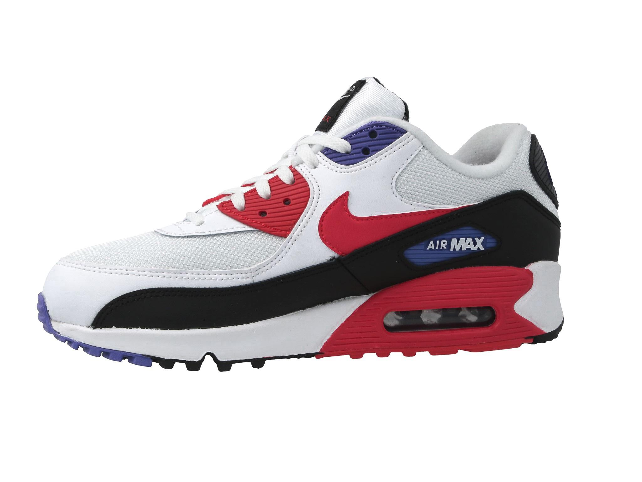 Shoes NIKE Air Max 90 Essential AJ1285 106 WhiteRed Orbit