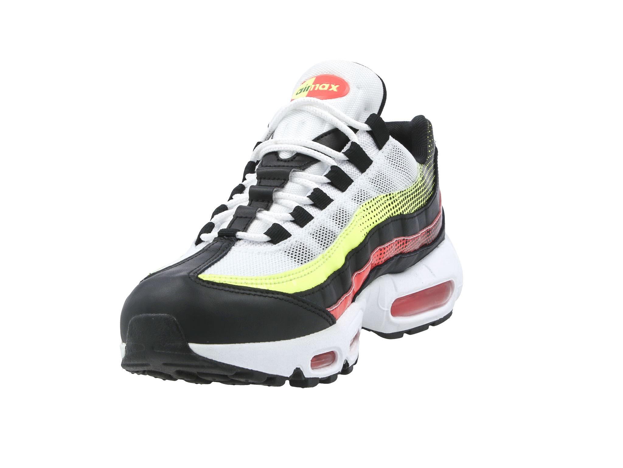 Sneakers buty Nike Air Max 95 black aloe verde (AJ2018 004)