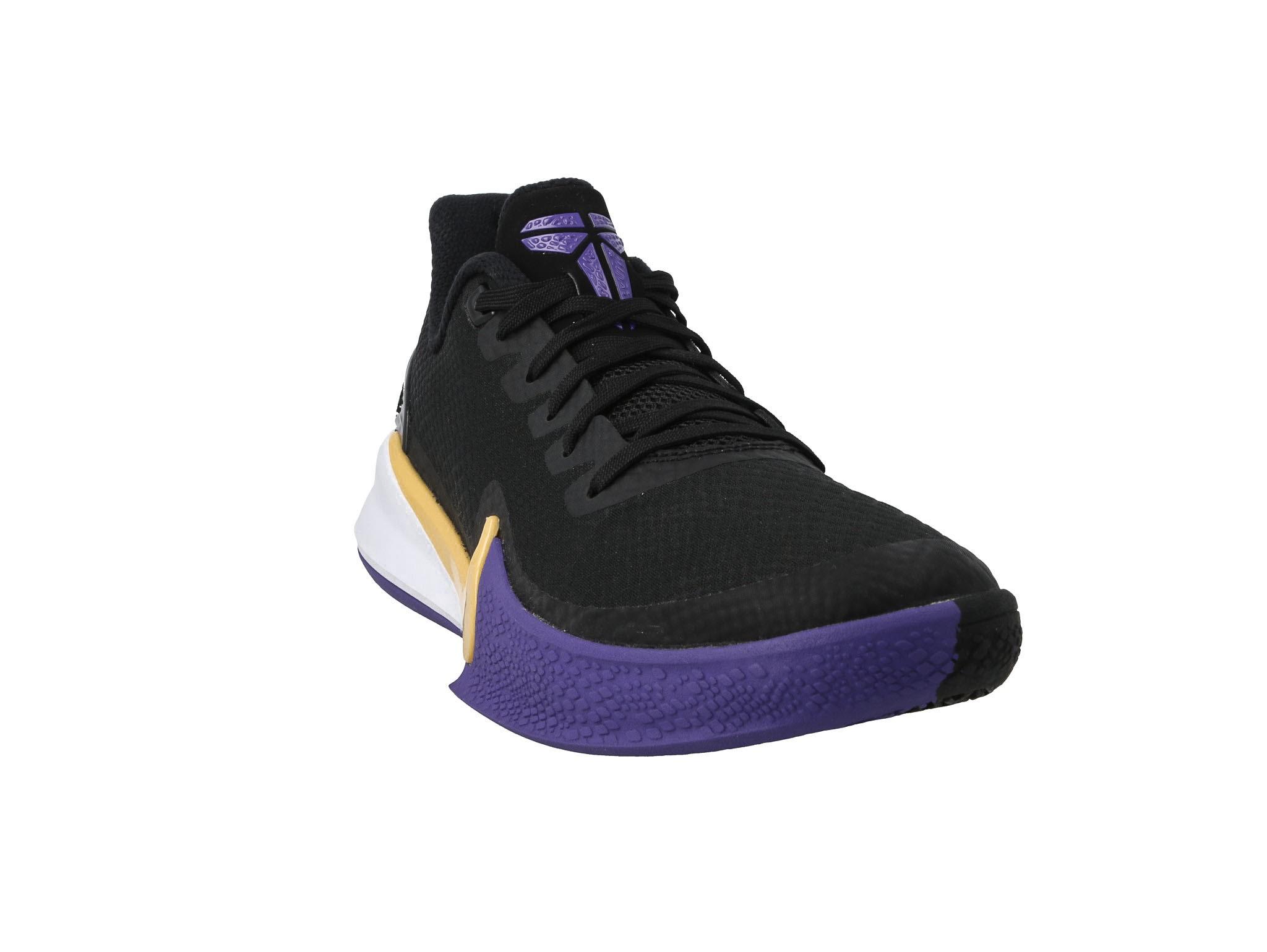 Buty NIKE Mamba Focus AJ5899 005 BlackAmarilloField Purple