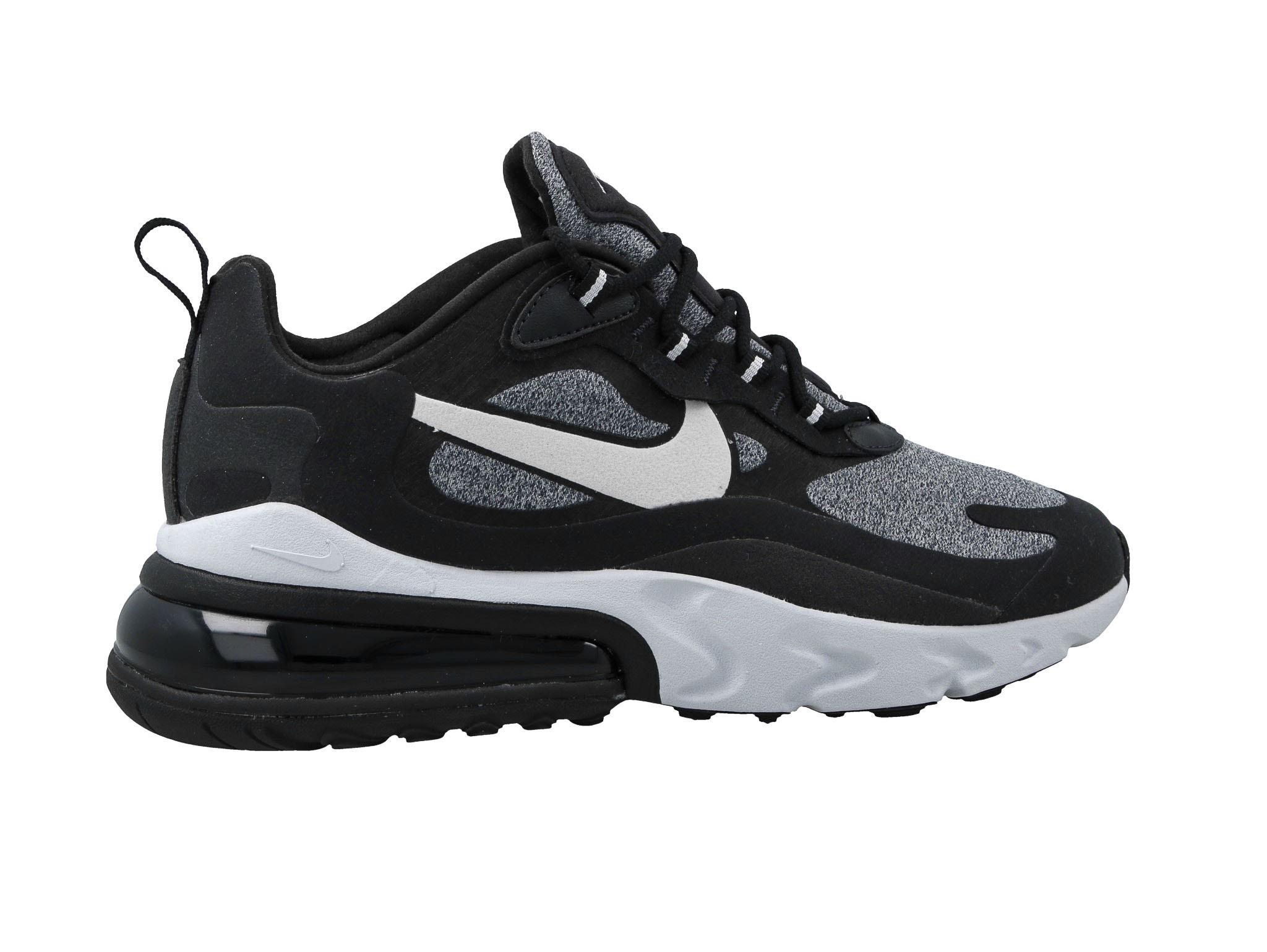 Nike Air Max 270 React Black White Brown AO4971 400