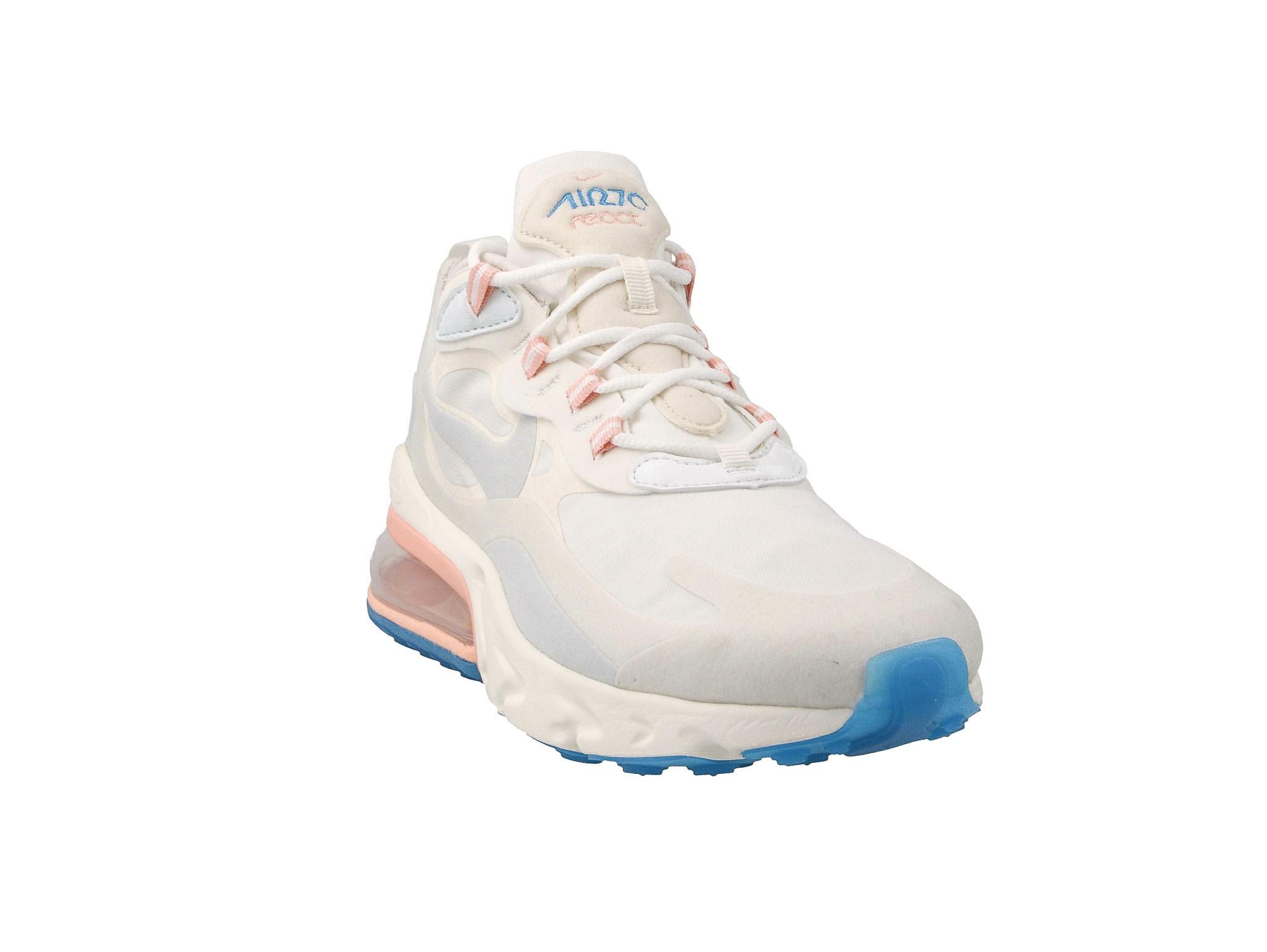 Nike Air Max 270 React Męskie Białe (AO4971 100)