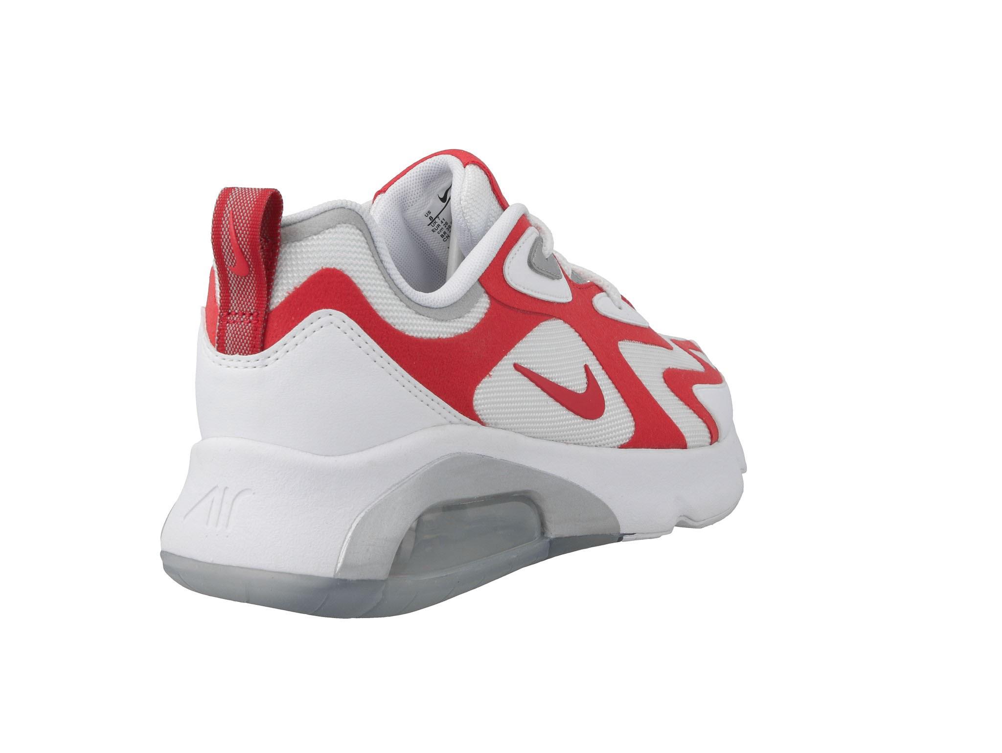 Cipő NIKE Air Max 200 AQ2568 100 WhiteUniversity Red