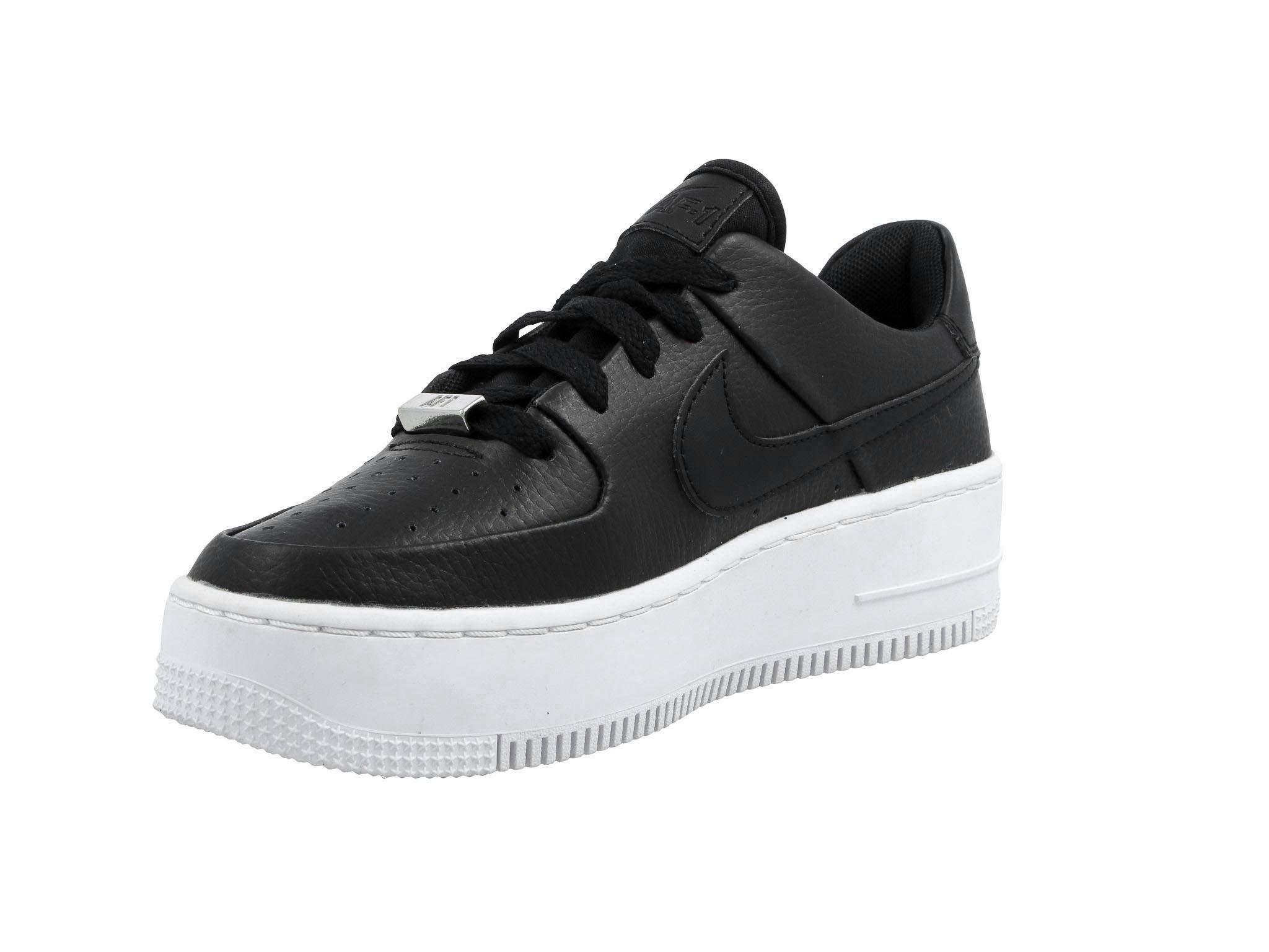 Nike W Af1 Sage LowBlack Black White