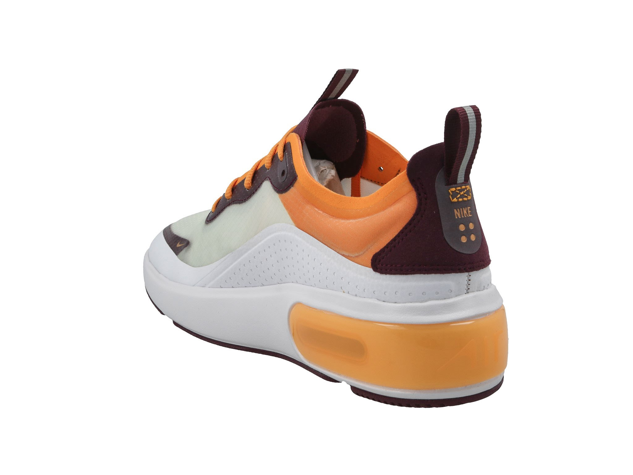 Cipő NIKE - Air Max Dia Se AR7410 103 White/Bordeaux/Orange Peel - Sneakers - Félcipő - Női