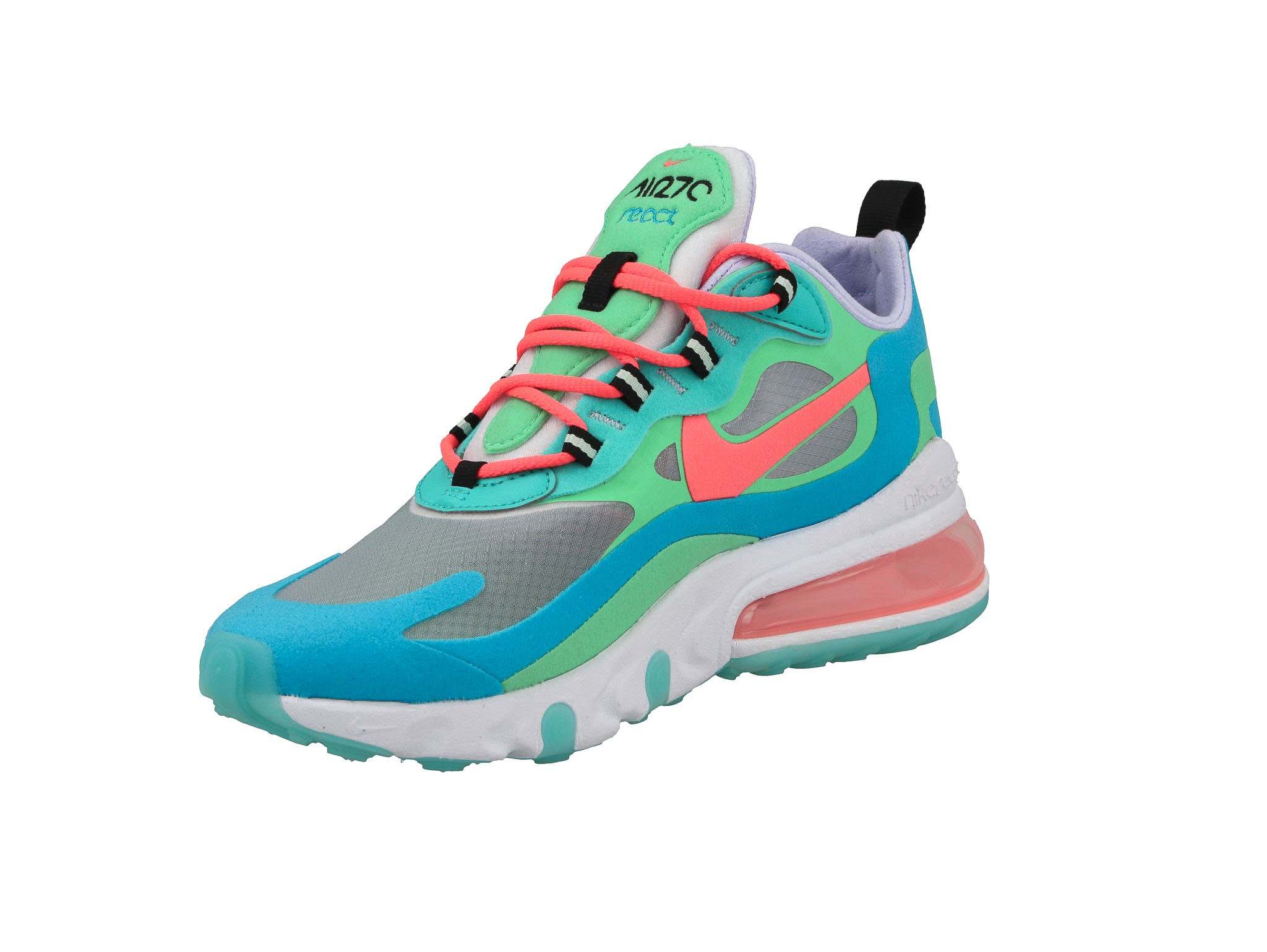Buty NIKE Air Max 270 React AT6174 300 Electro GreenFlash