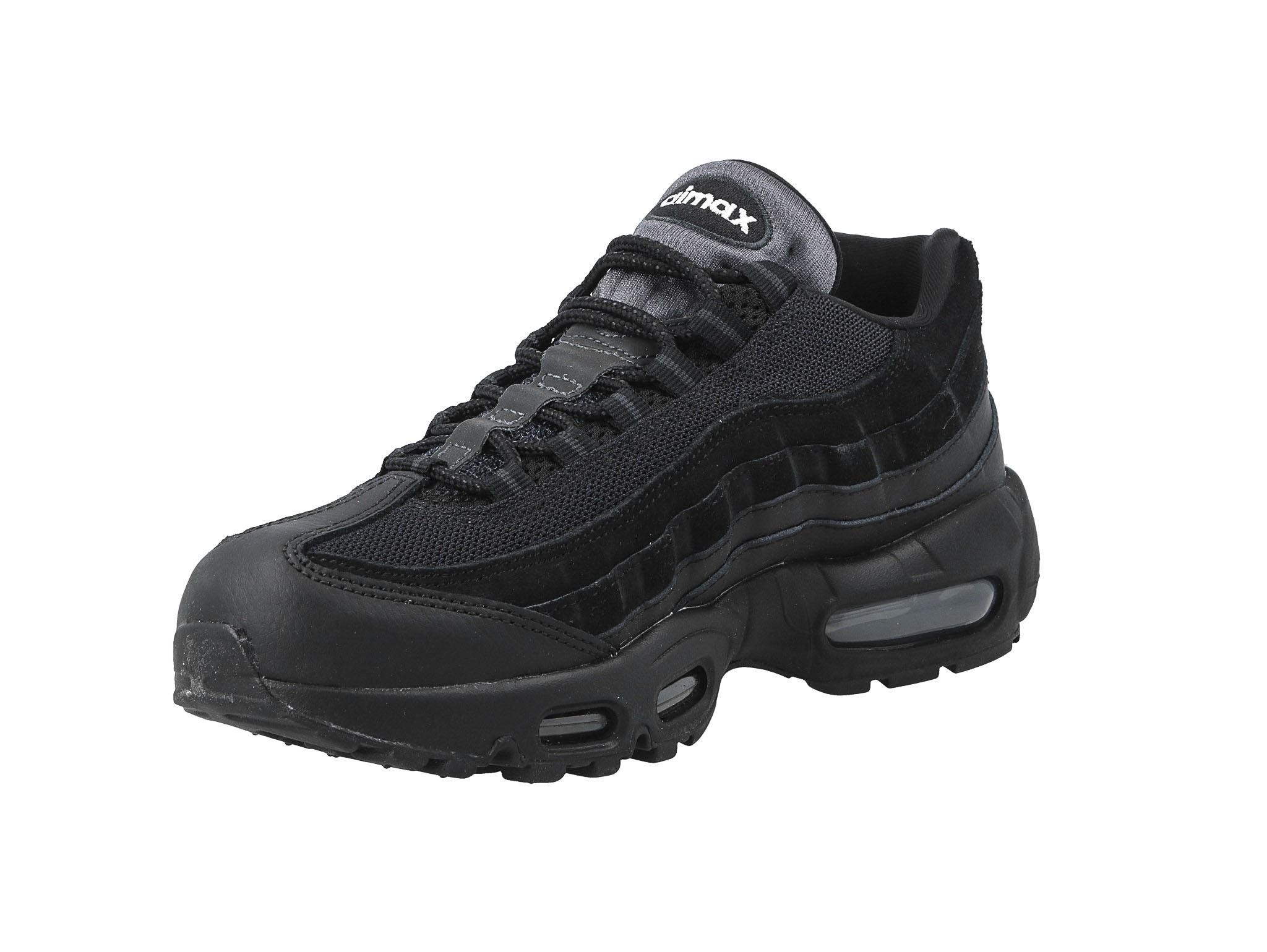 Nike Air Max 95 Trainers In All Black Blackblackanthraci