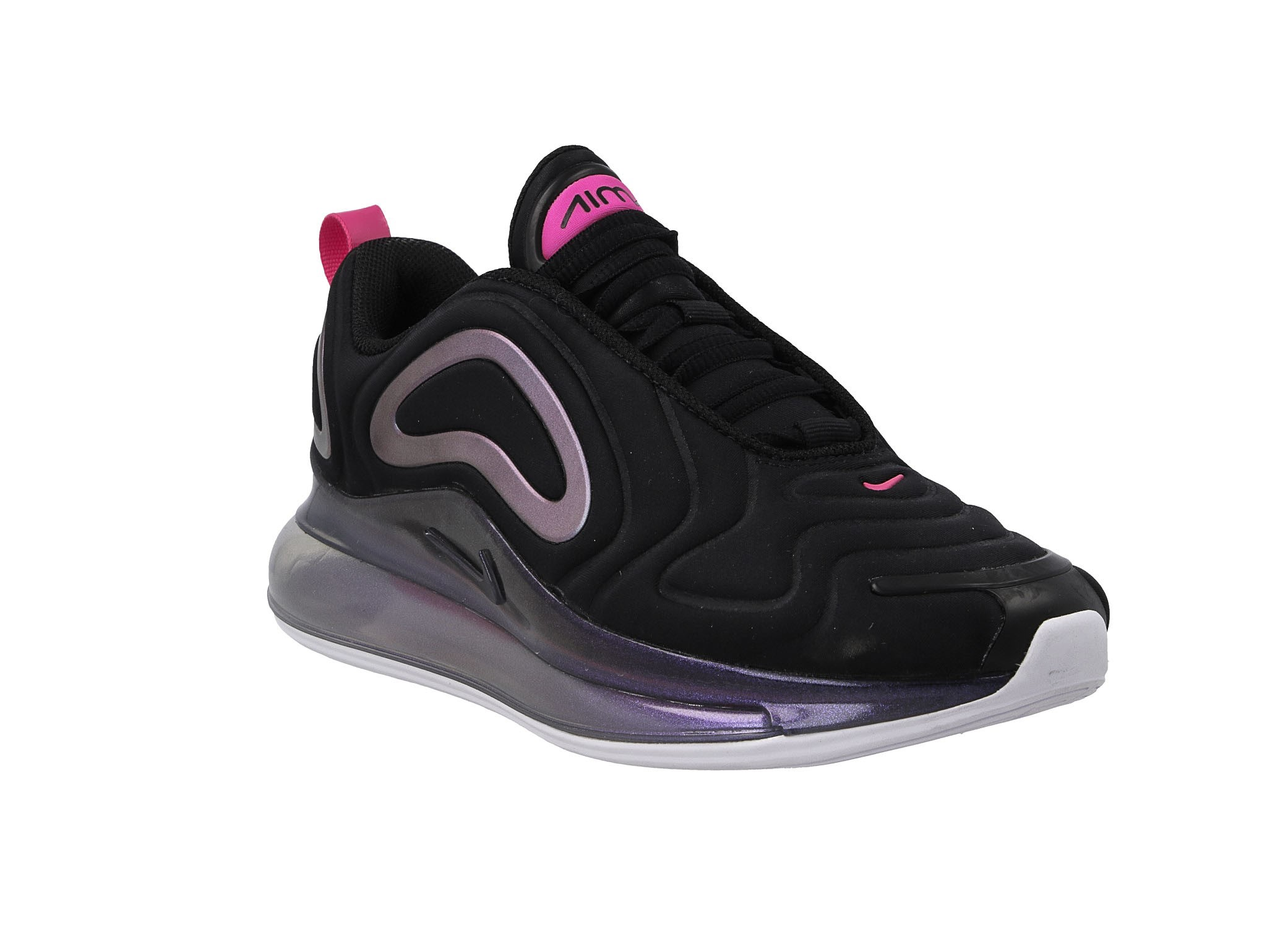 Nike W Air Max 720 Se Black Laser Fuchsia White | Footshop