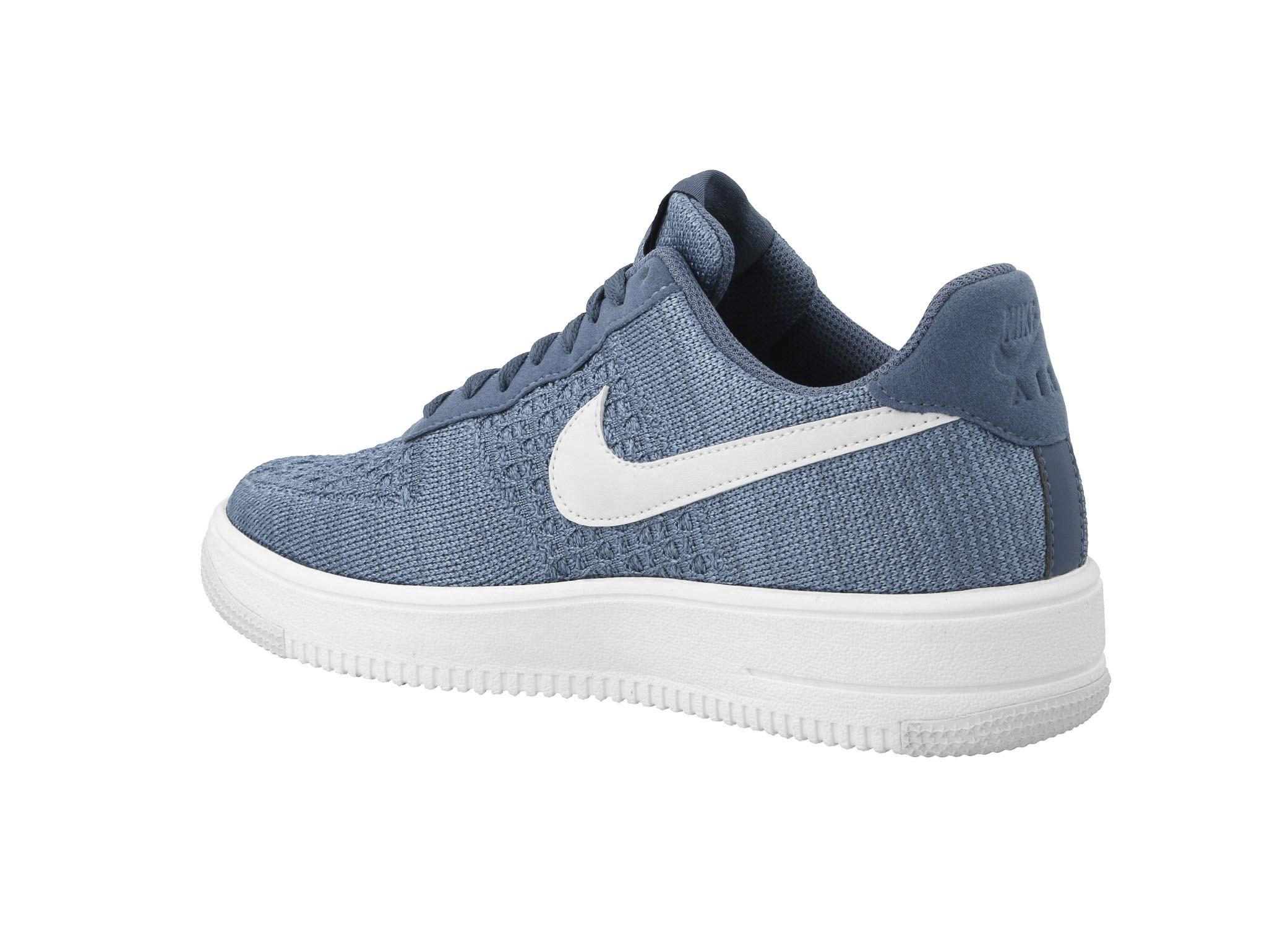 Shoes NIKE Air Force 1 Flyknit 2.0 CI0051 400 Ocean Fog