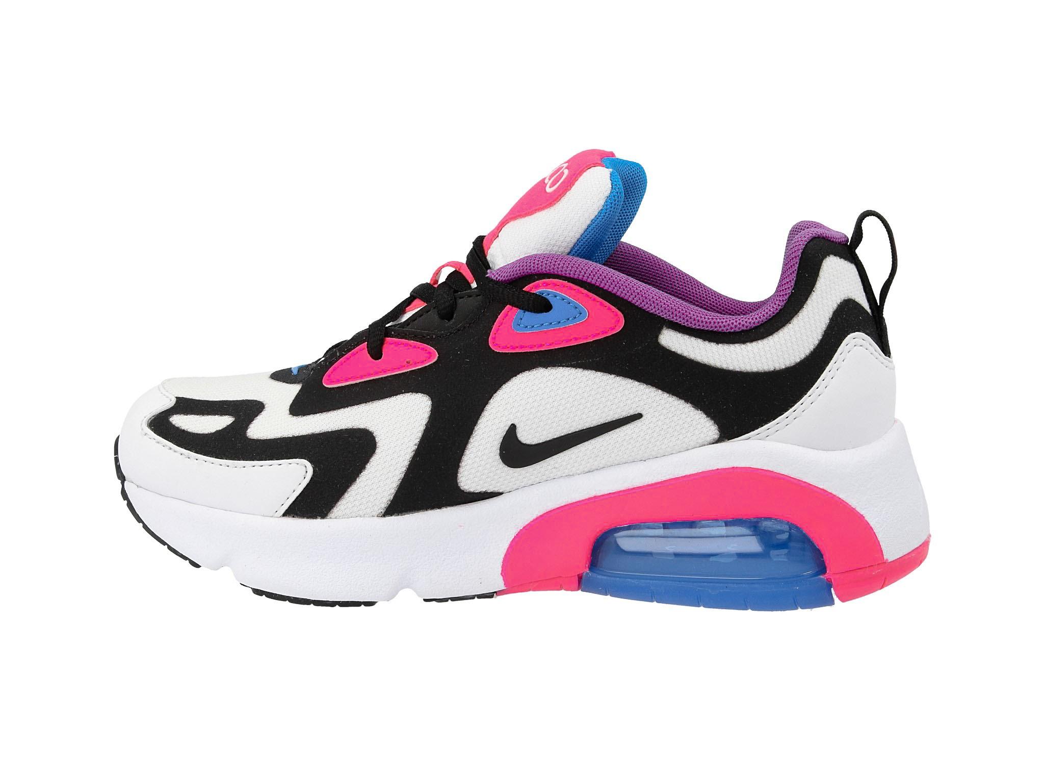 Cipő NIKE Air Max 200 (GS) AT5630 100 WhiteBlack Hyper Pink